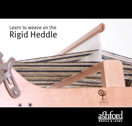 ashford rigid heddle loom