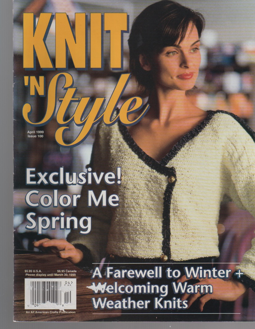 August 2000 Knit /'N Style Magazine