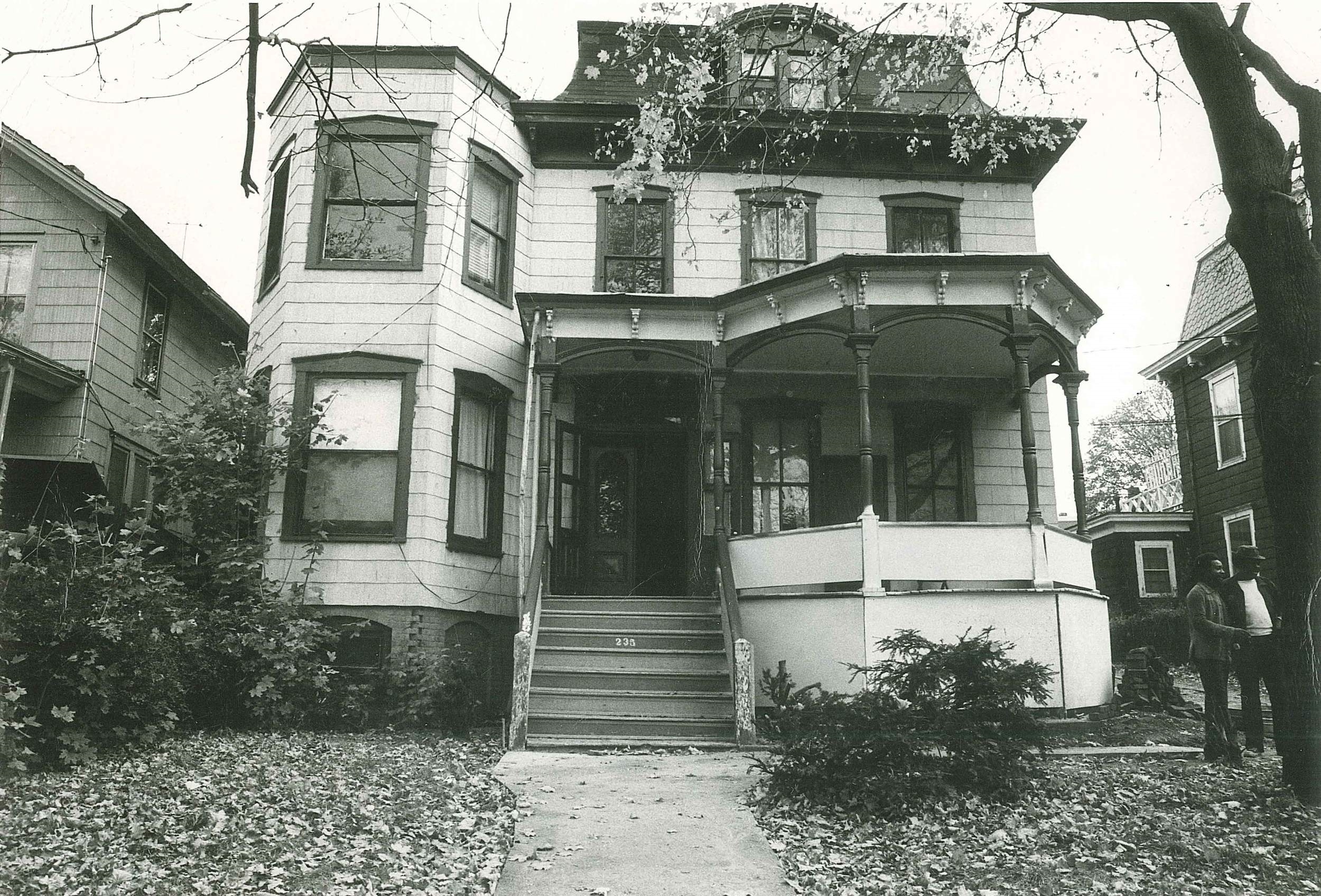 IFCA's first property, 235 spring street, ossining, ny. As it was in 1973