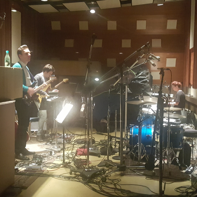Tracking in Studio 3 at EastWest