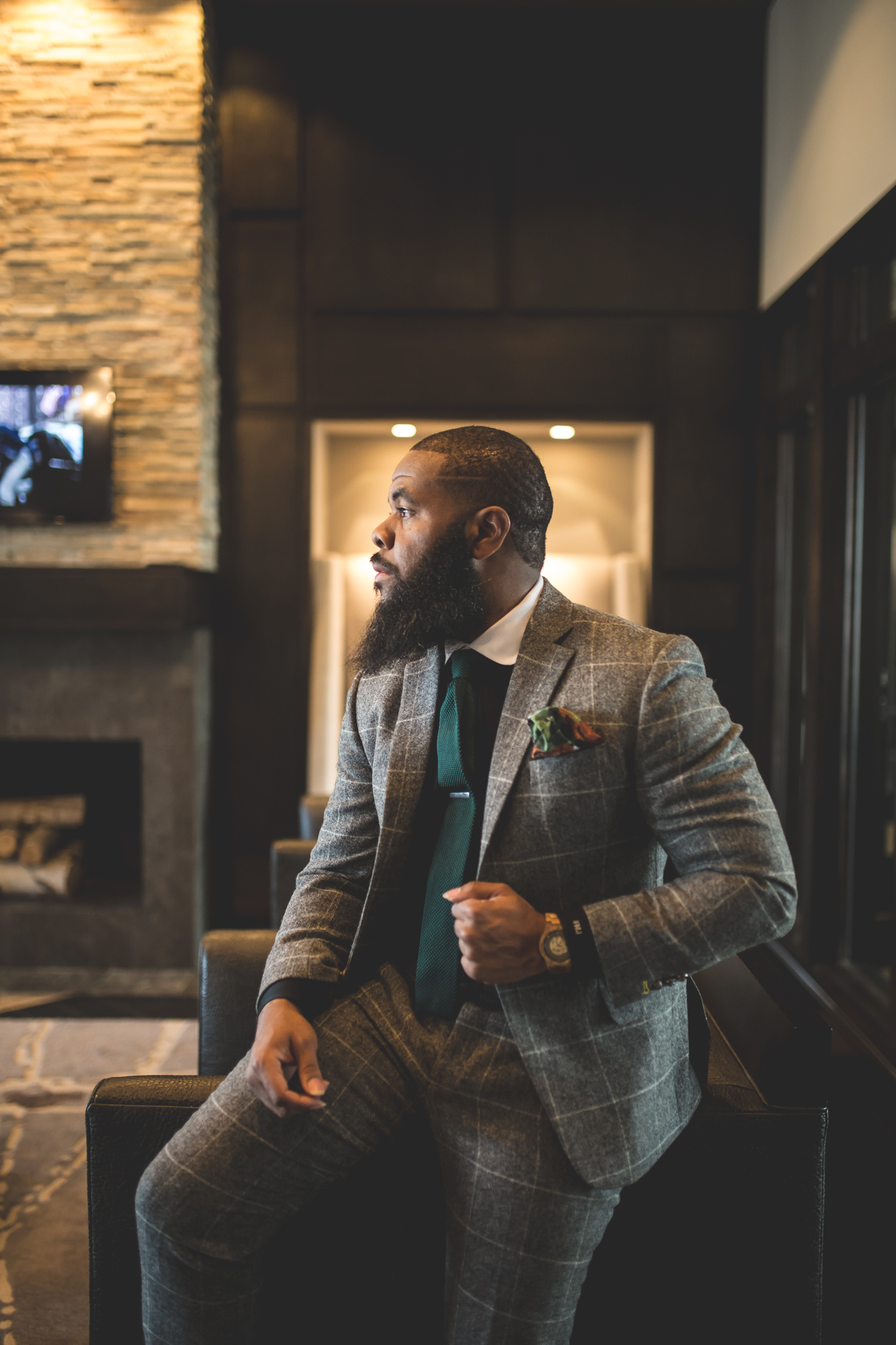 © Black Men With Beards