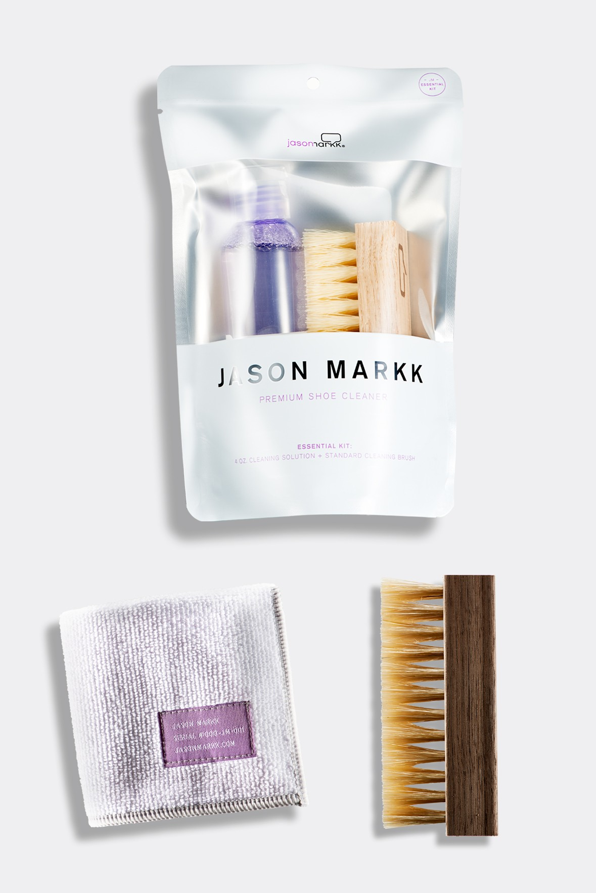 1. Jason Markk Essentials Bundle - Hard sole shoes are indeed the gentleman's choice, but what about those who swear by sneakers? We can't forget about them and with sneakers costing $200+ or more these days you would want to help find ways to preserve those bad boys as long as possible. That's where this practical yet necessary shoe cleaning kit from Jason Markk comes in handy. Thou shall not walk around in dirty sneakers!