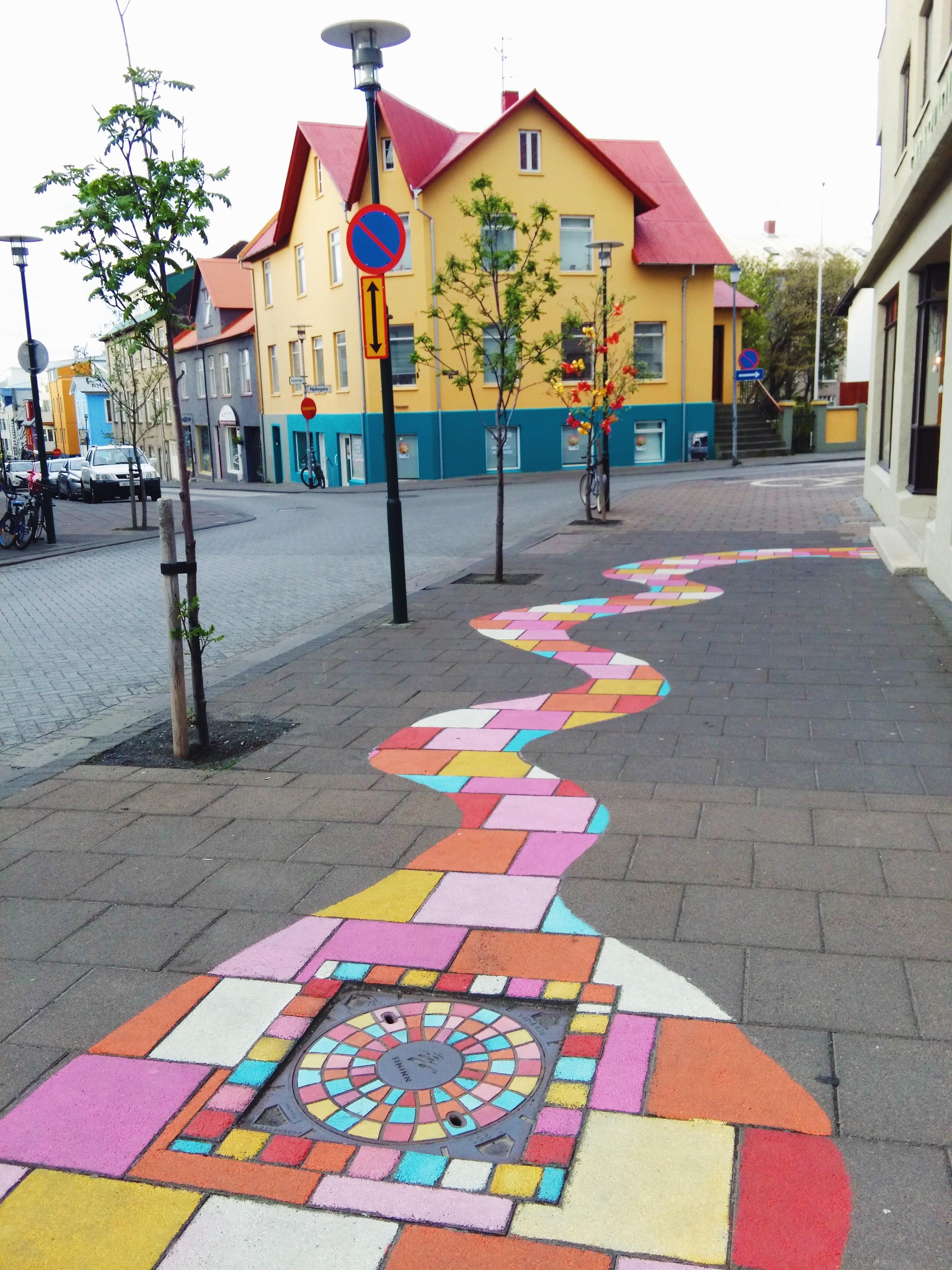 Walking around Reykjavik, Iceland!
