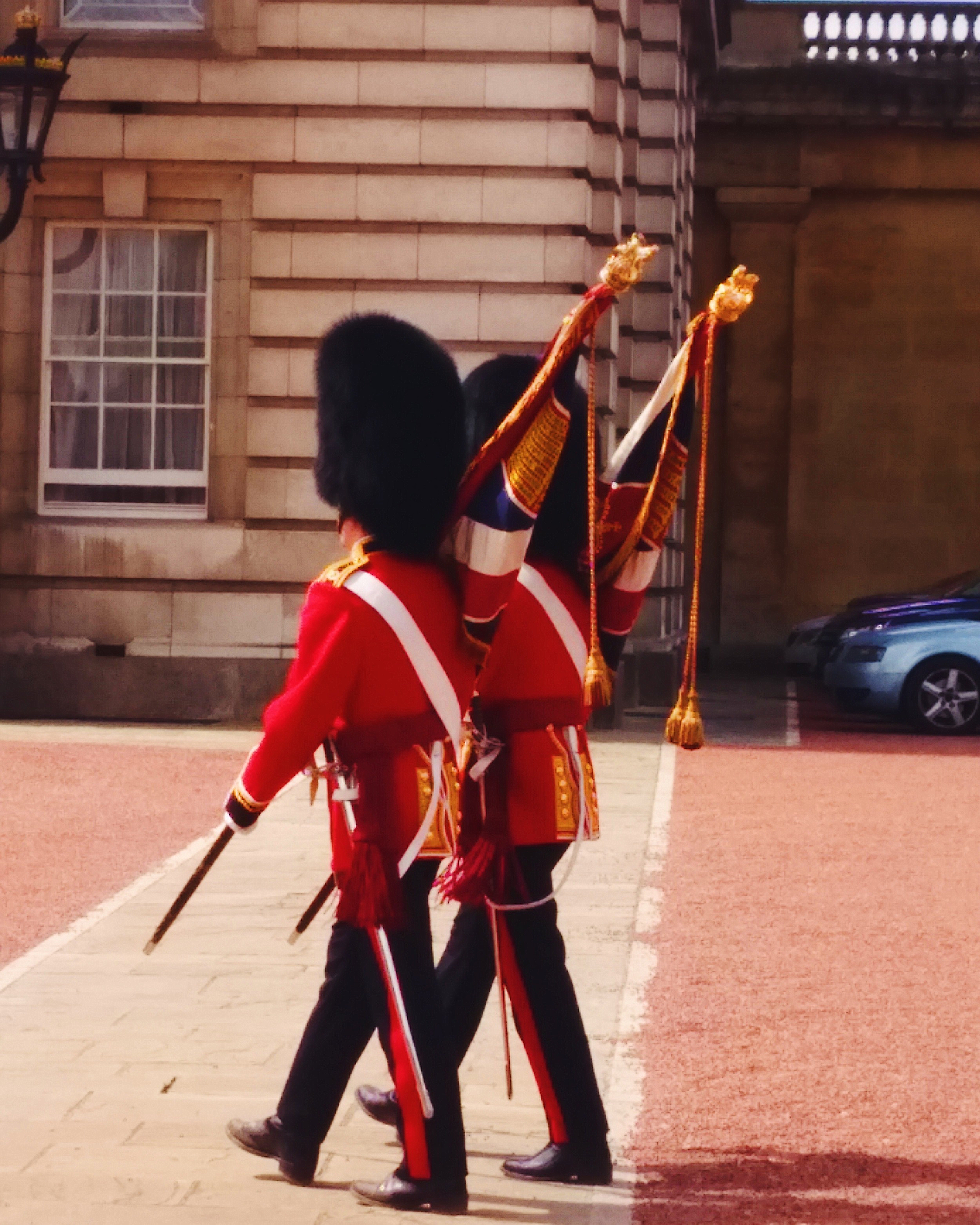 Buckingham Palace Changing of the Guards.