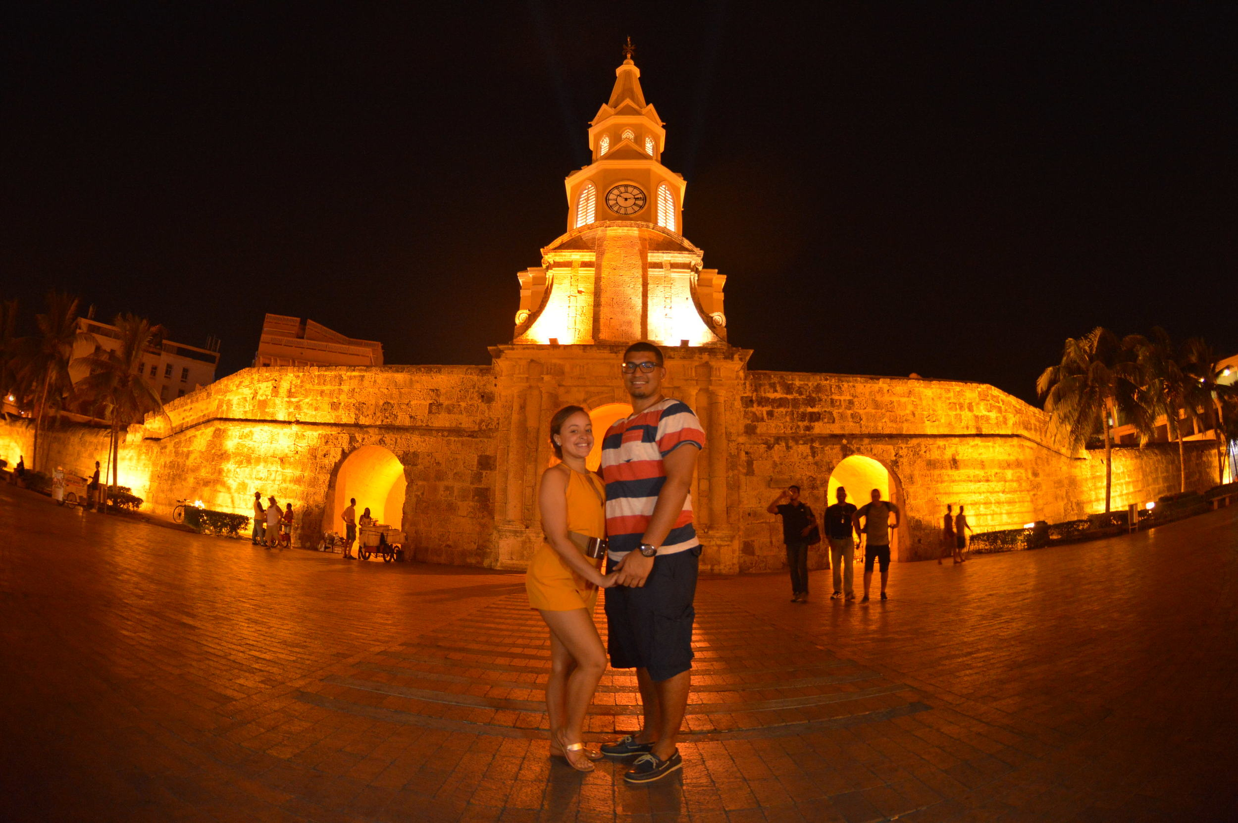 Luminous nights in Cartagena!