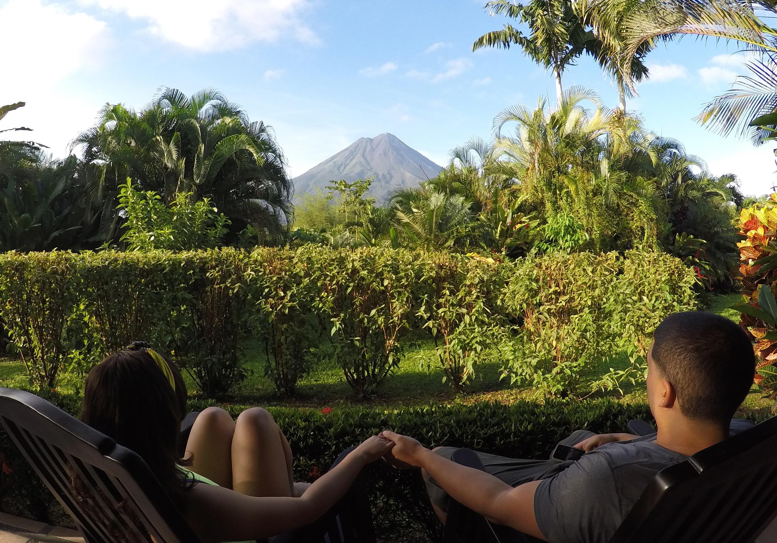 Volcano Views in Costa Rica!