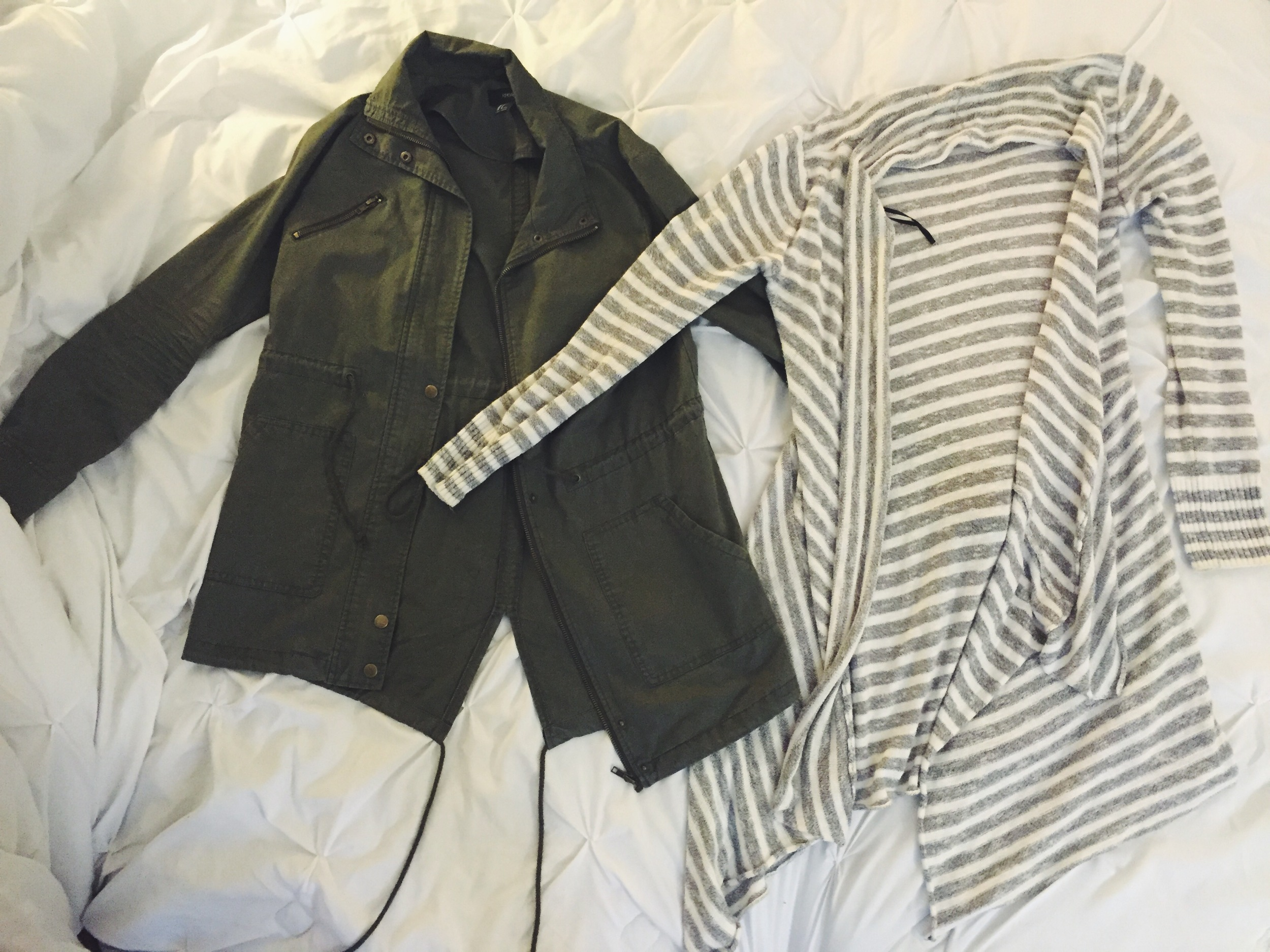Light Jacket & Sweaters for Cooler Night Temperatures