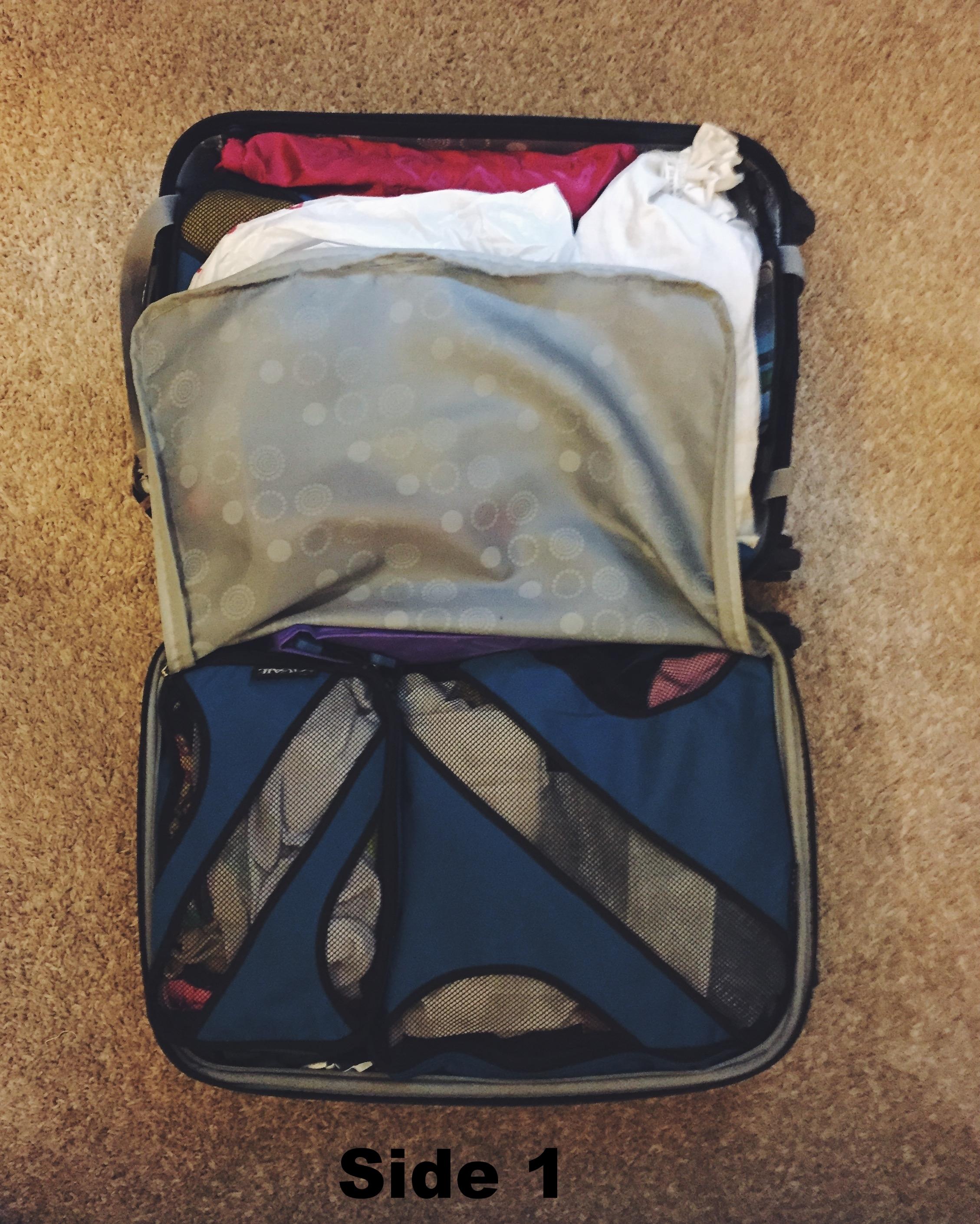 Luggage Layout