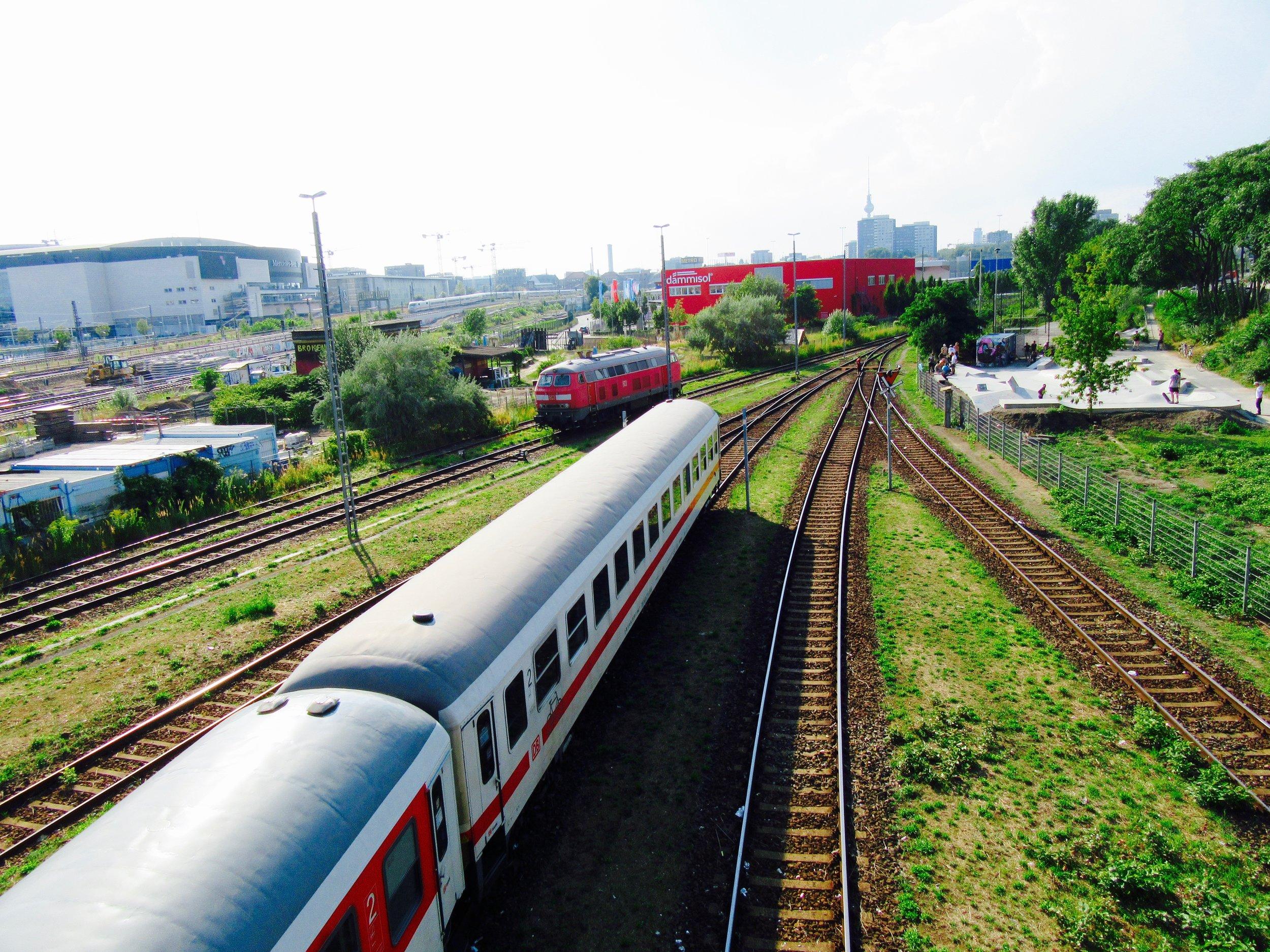 Trains in Berlin