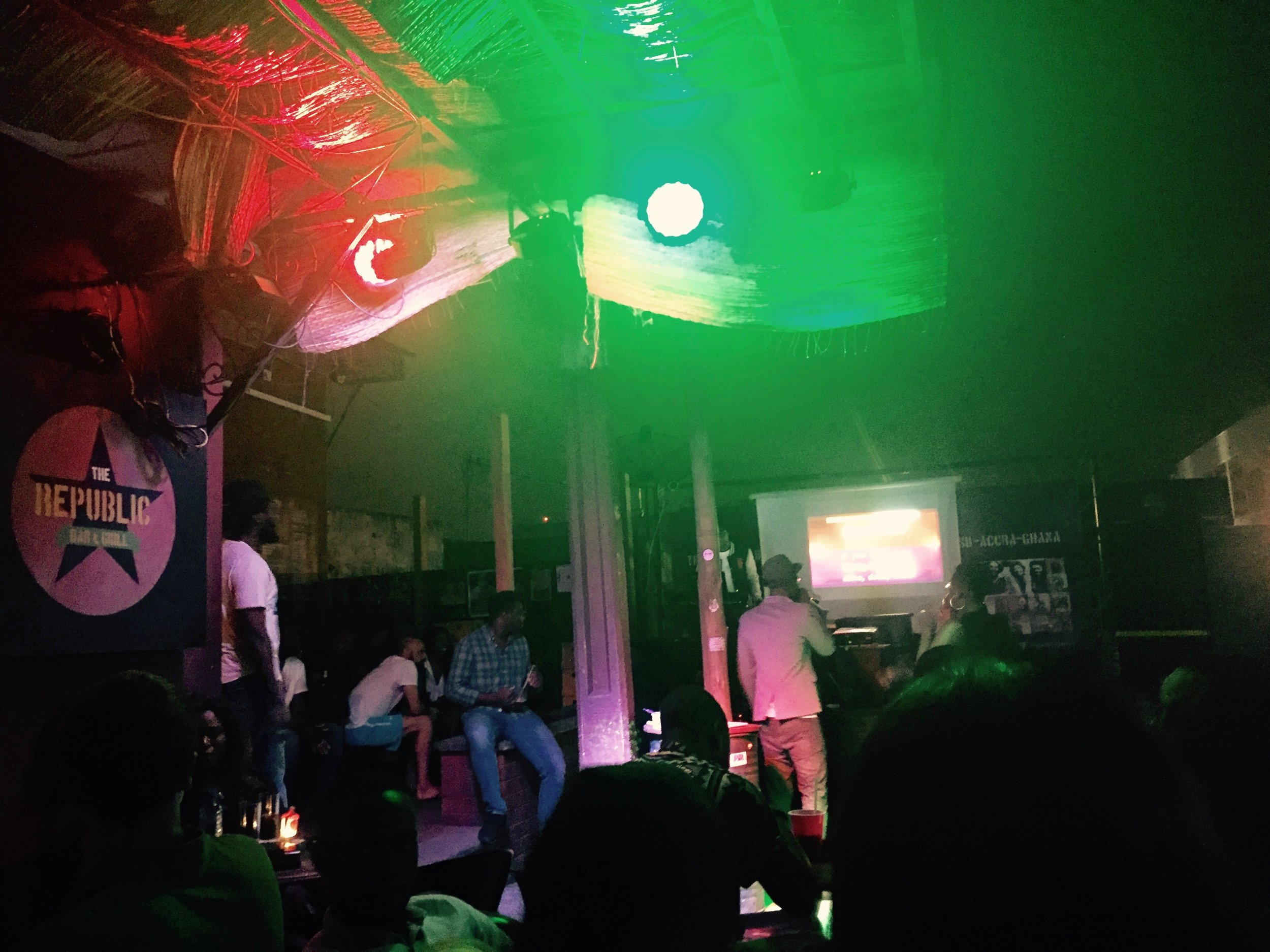 7- Day Guide to Social Events in Accra -- The Republic Bar & Grill