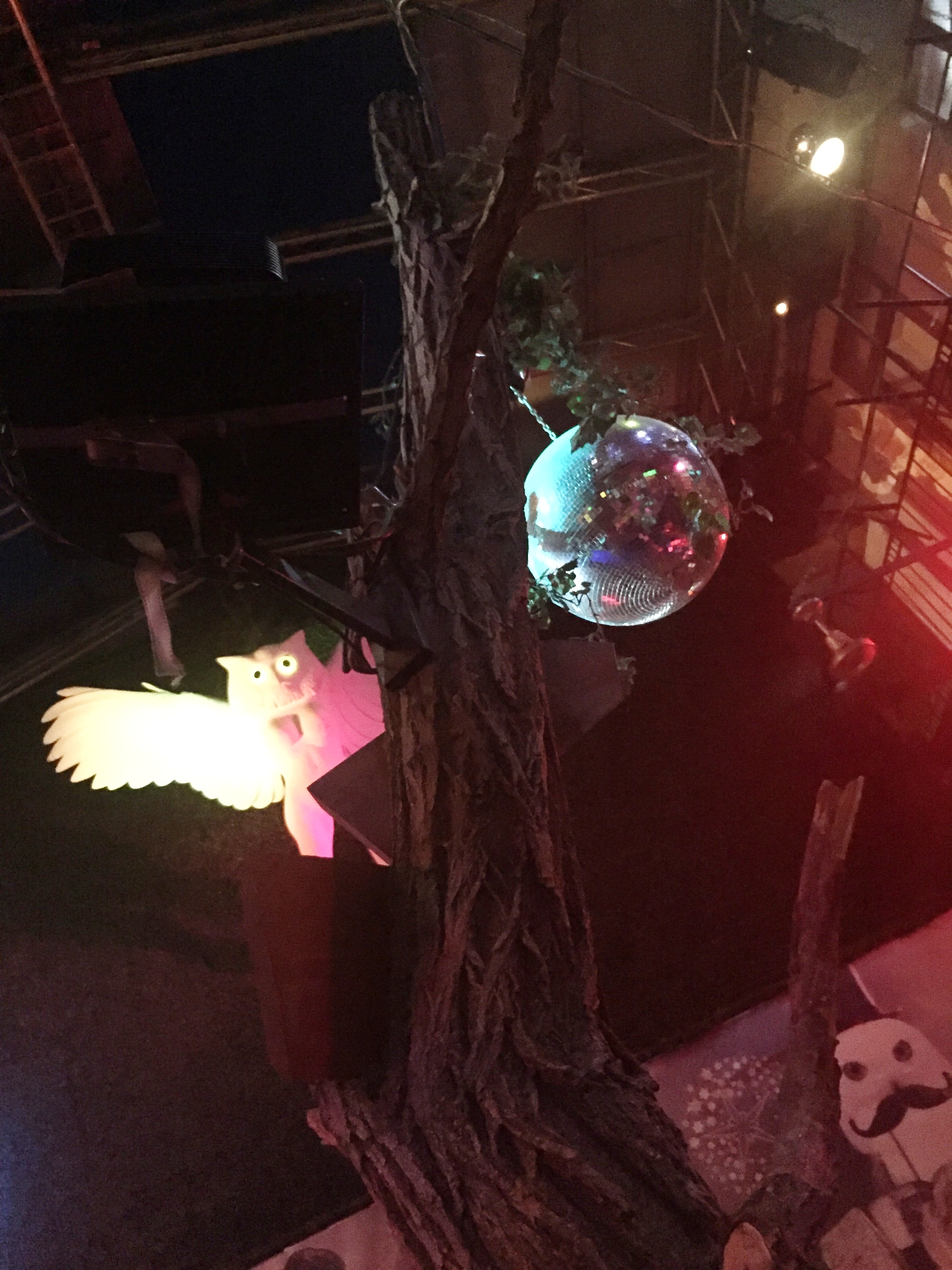 Ruin Bars, a place where a flying Owl with a human body is the norm!