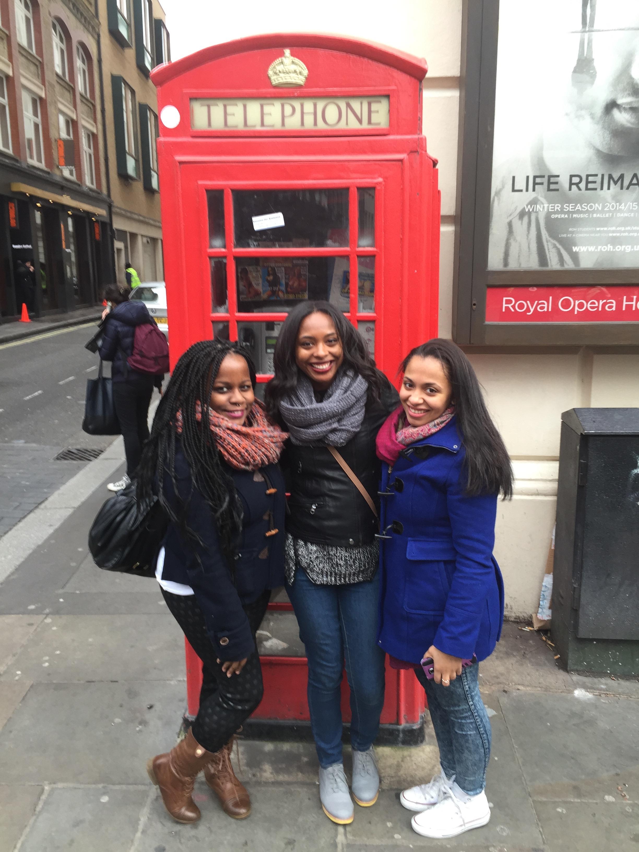 London Layover Fun!