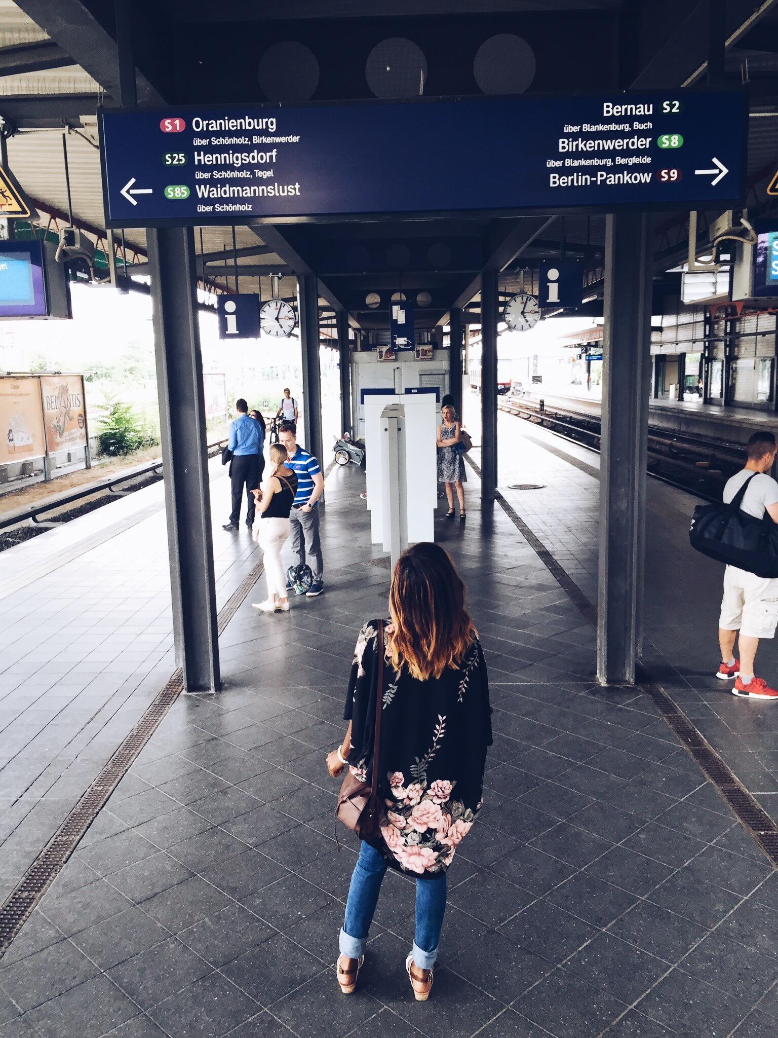 I love Berlin's transit system. It's so easy to navigate!