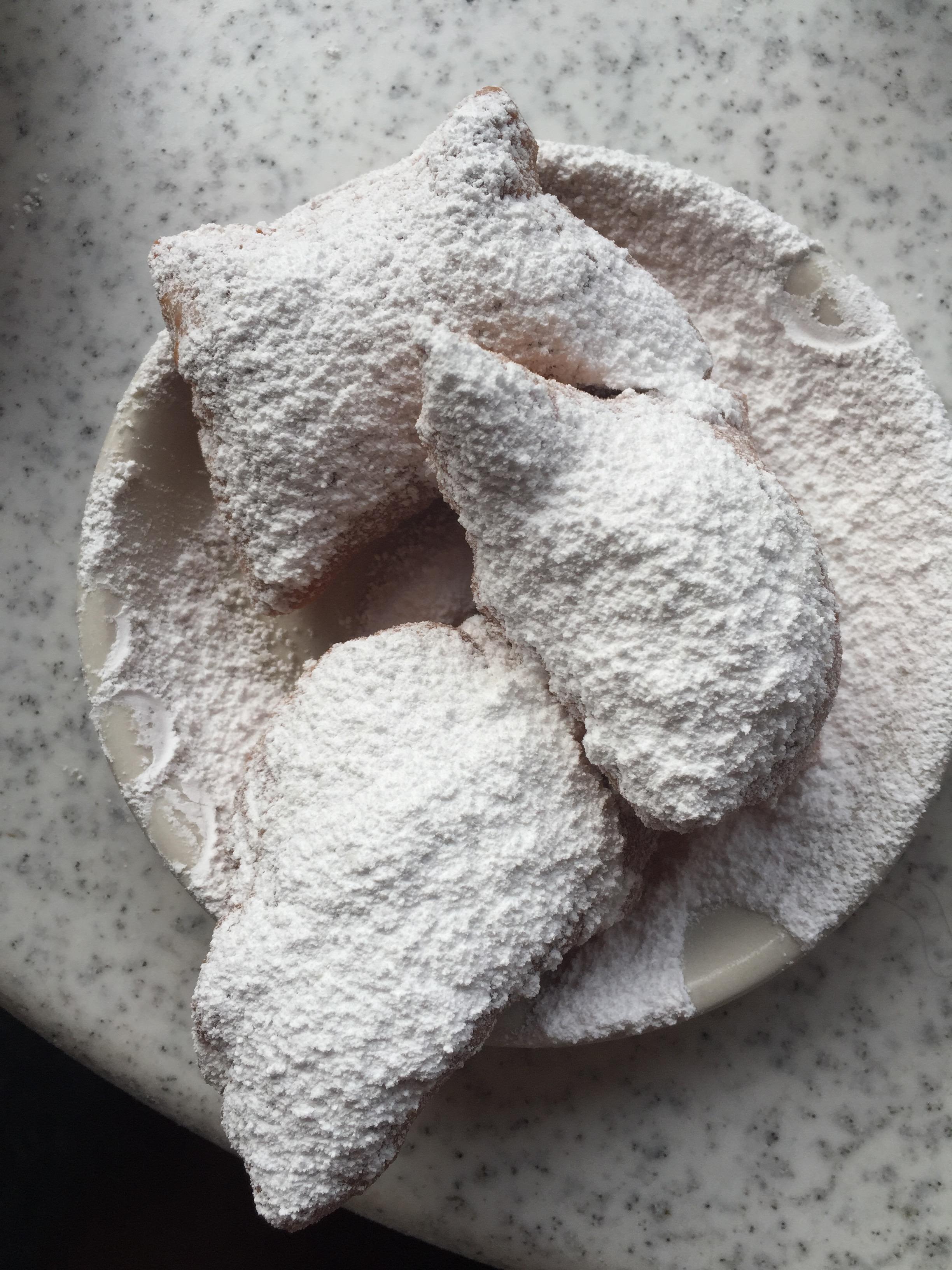 Beignets at Cafe Du Monde