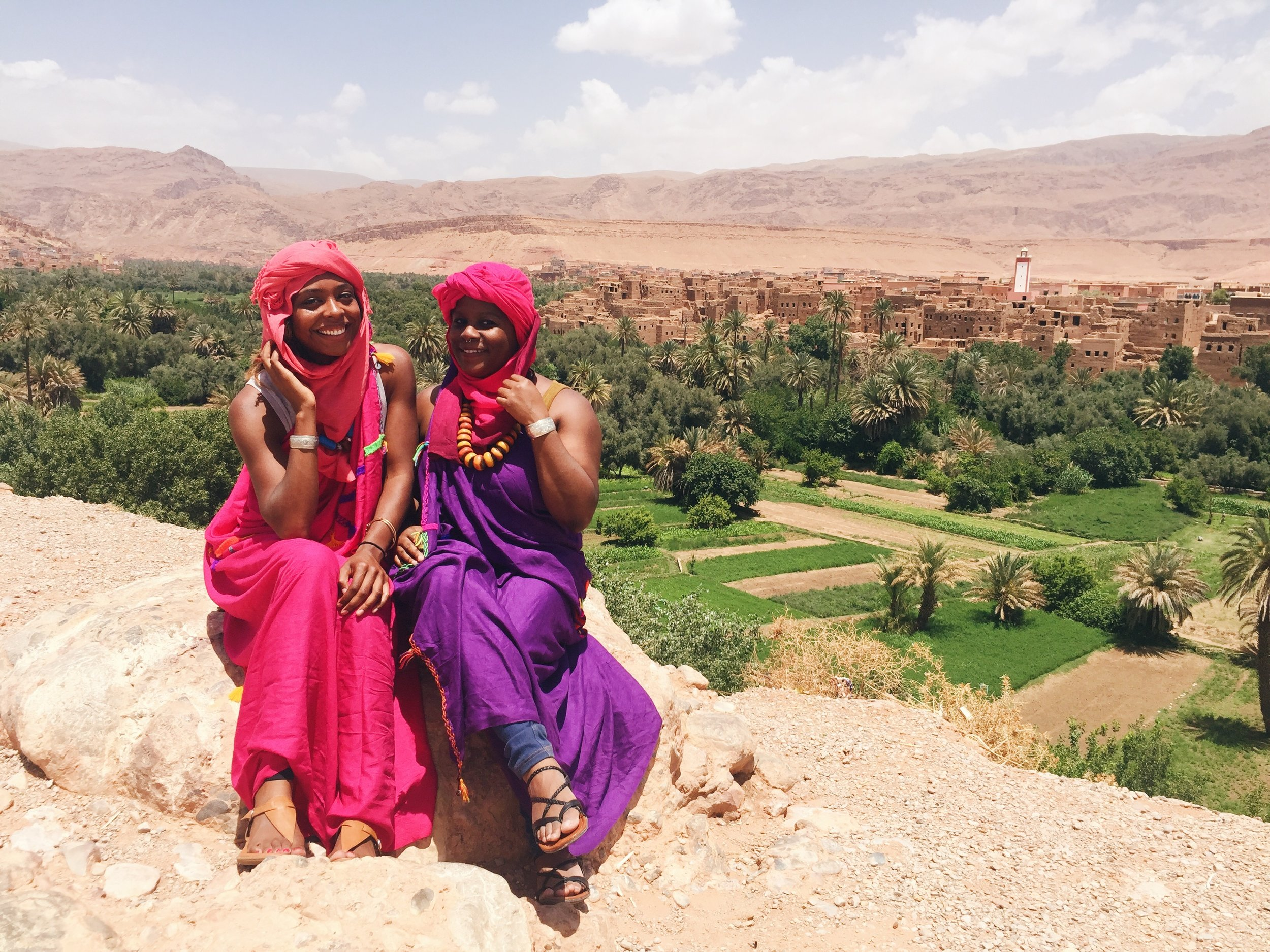Morocco Itinerary- Todra Valley