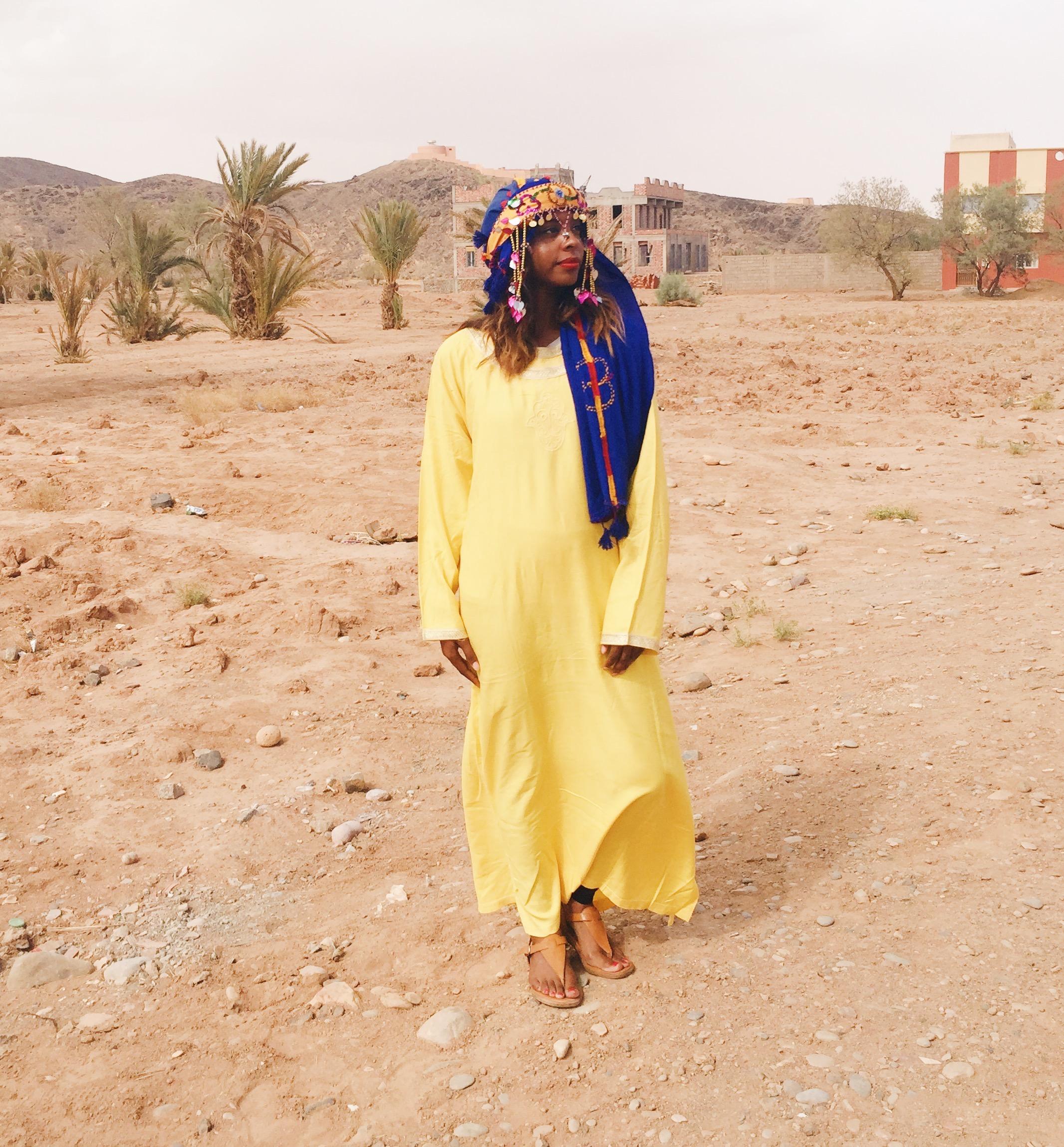 Berber clothing in Tinejdad- Melaab