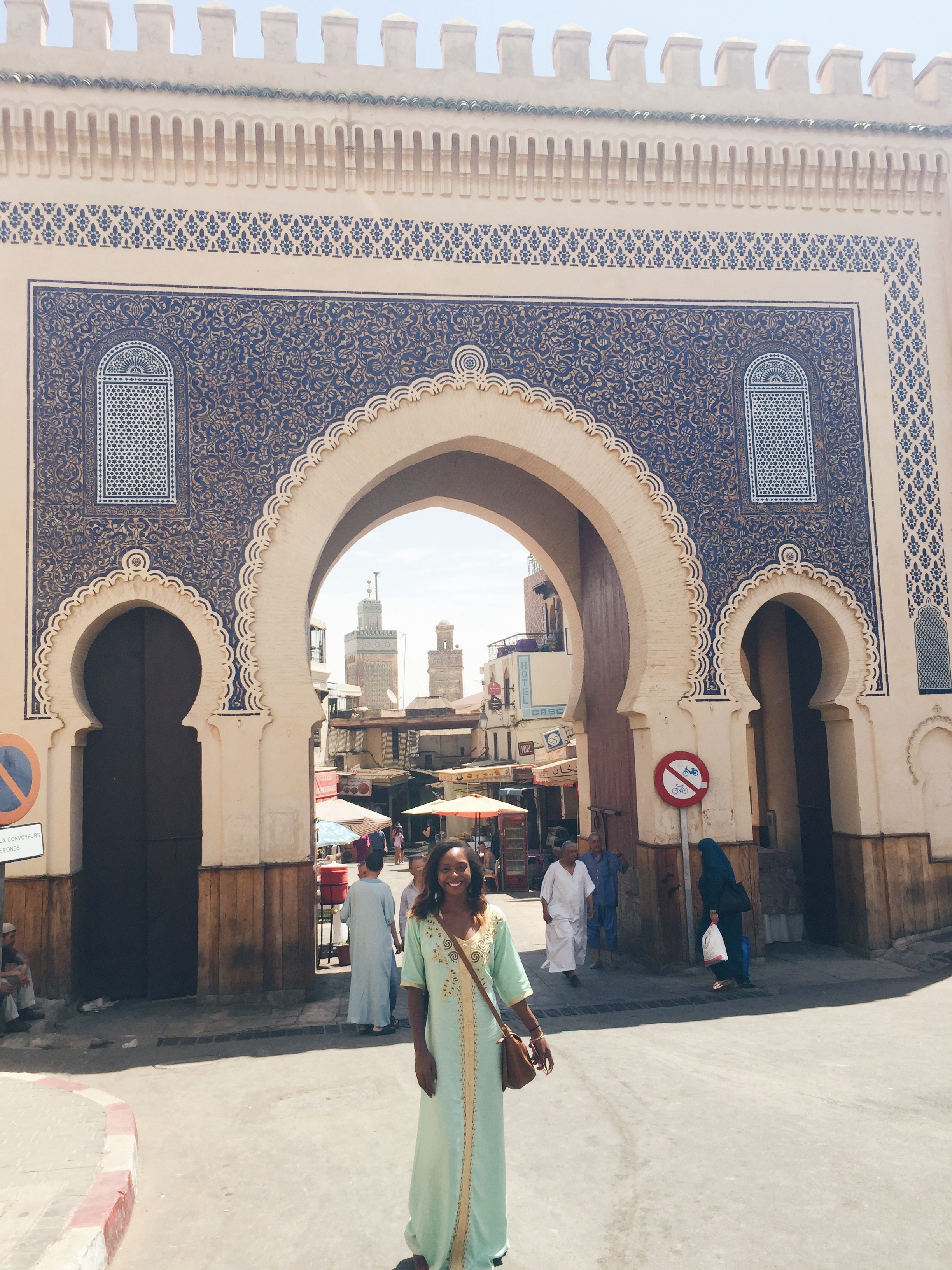 Bab Bou Jeloud/ The Blue Gate of Fes