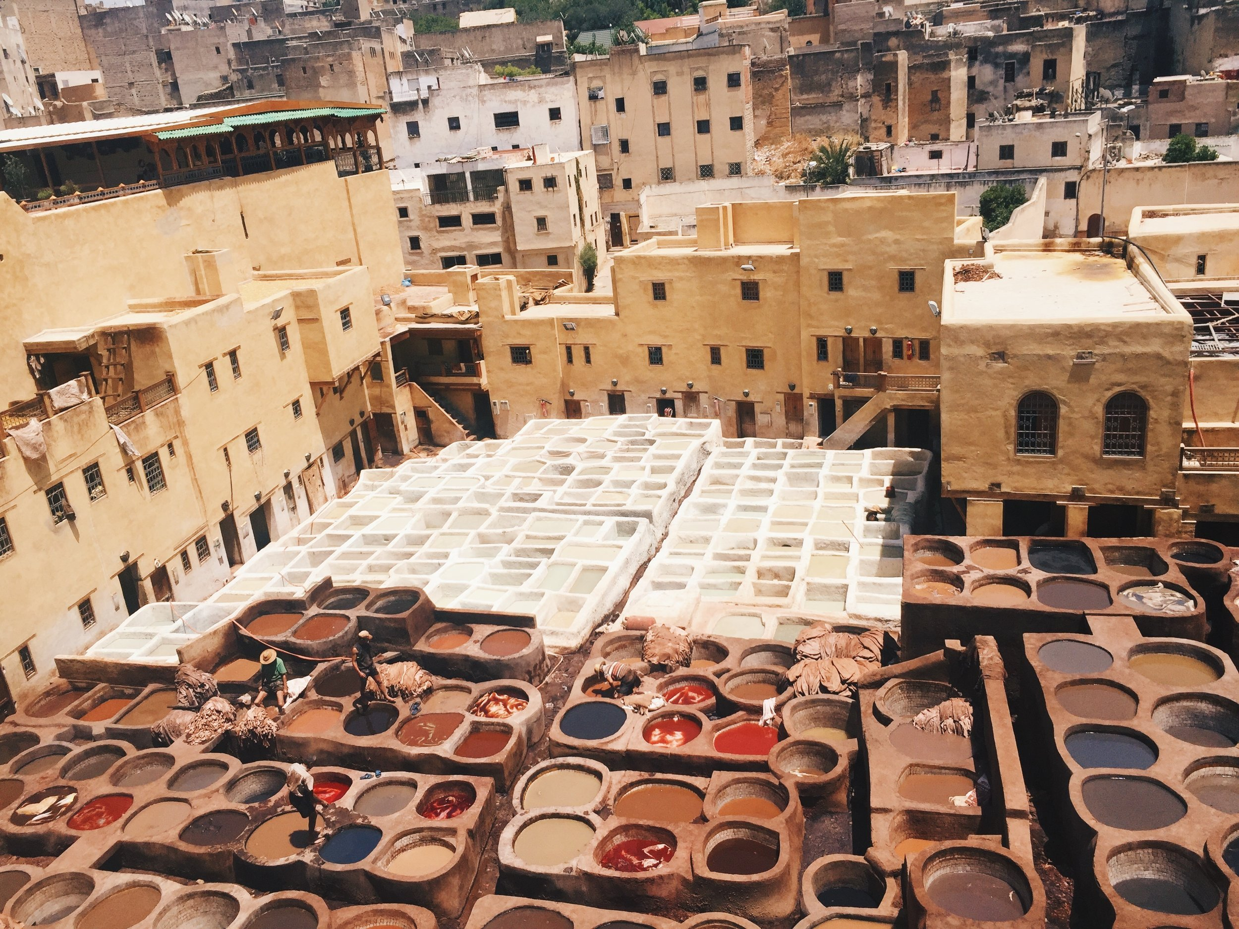Chouara Tannery in Fes