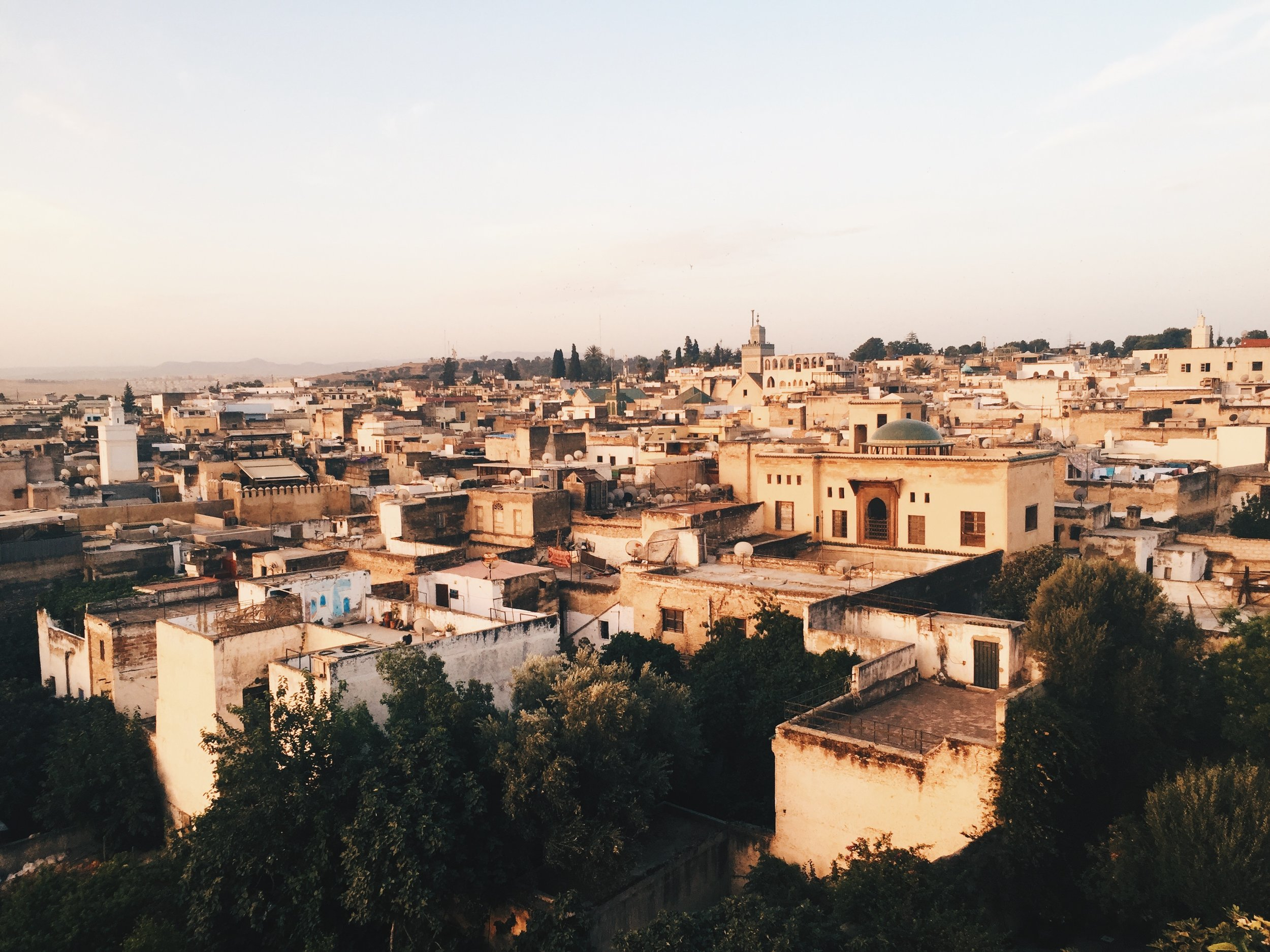Sunrise in Fes, Morocco
