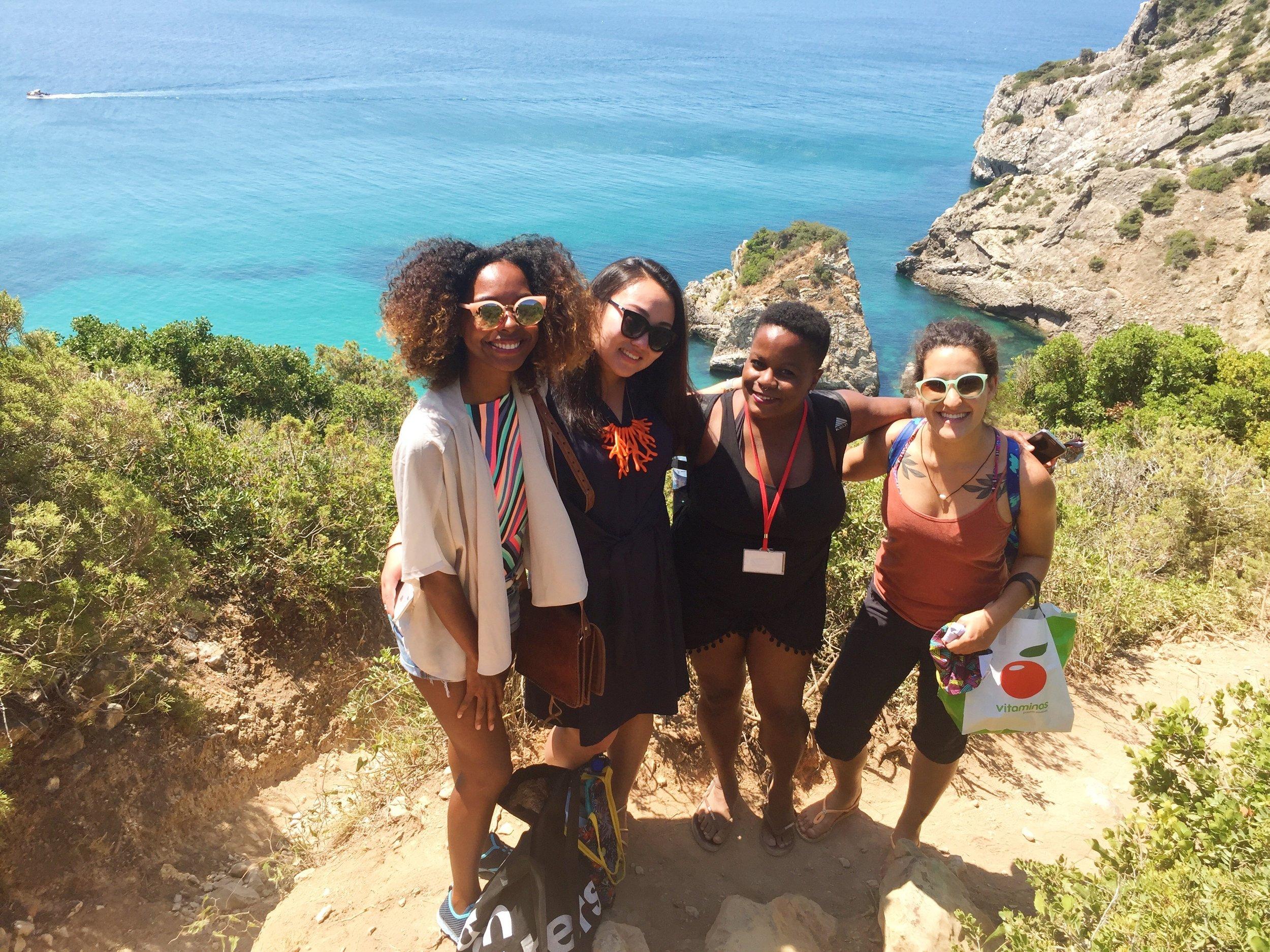 Hiking to Ribeiro deCavalo
