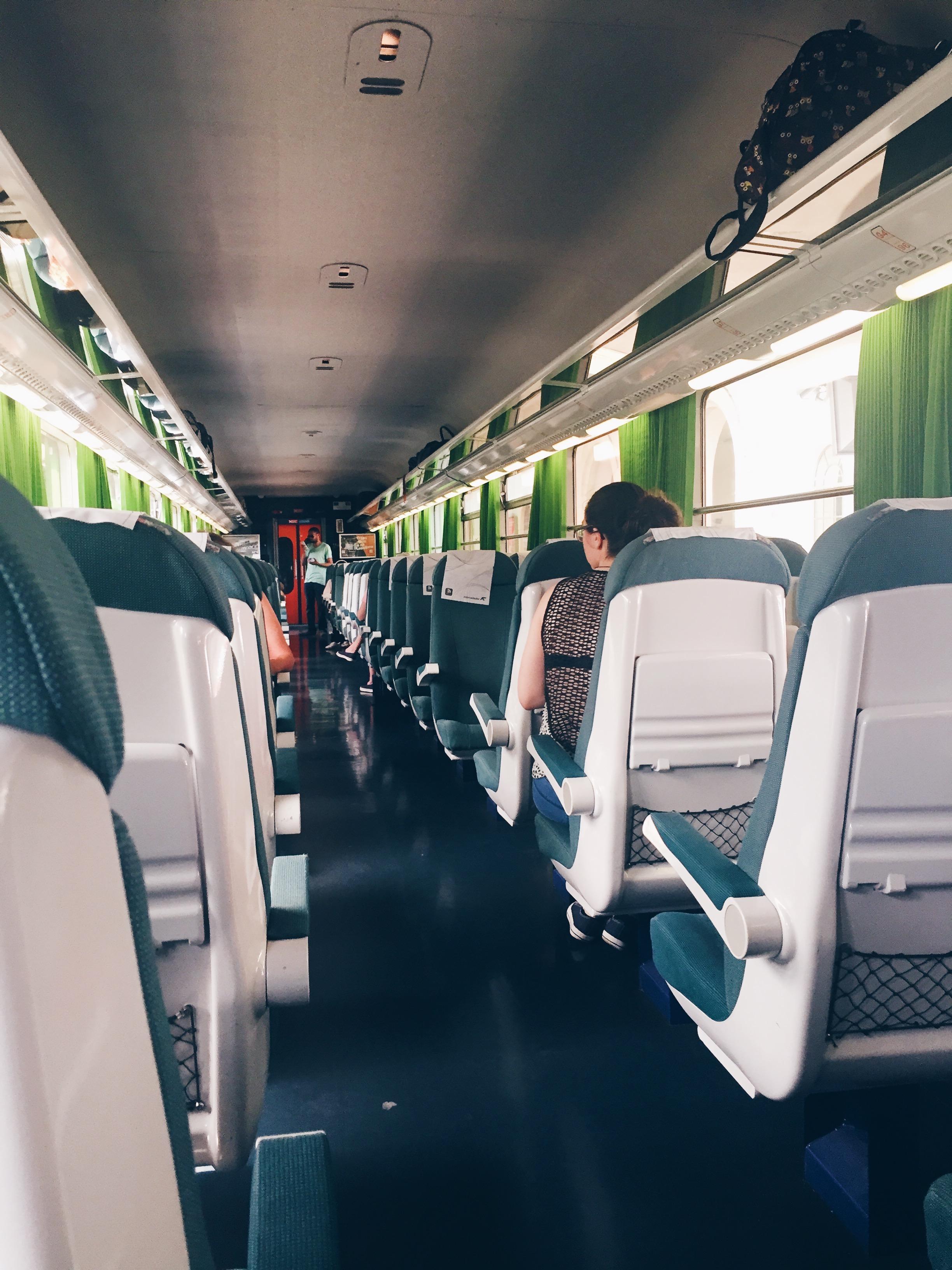 Train to Porto, Portugal