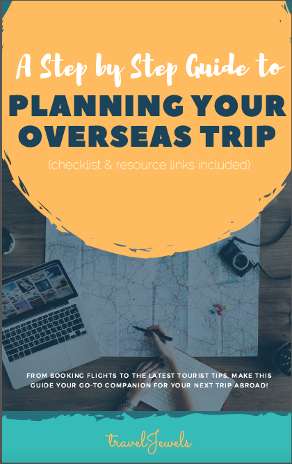 travelJewels: Step-by-Step Guide to Planning Your Overseas Trip