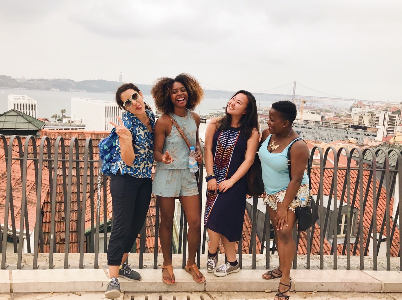 My travel crew and I in Lisbon. You would never guess that half of us just met an hour before this picture was taken!
