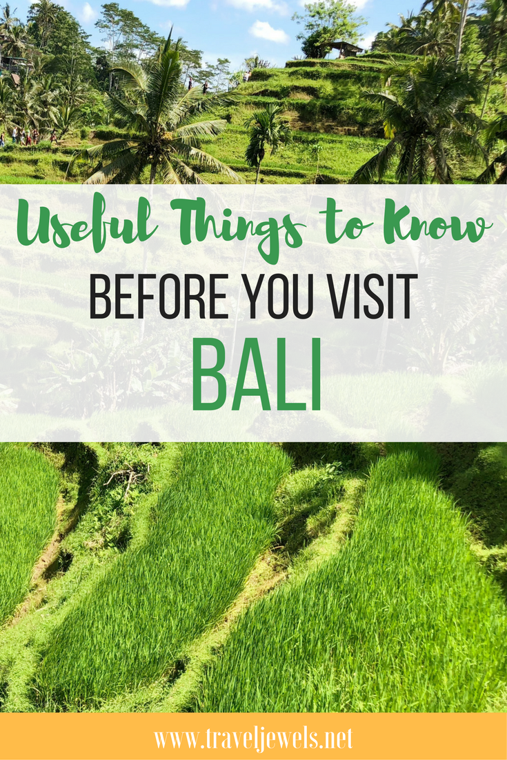 Useful Things to Know Before You Visit Bali