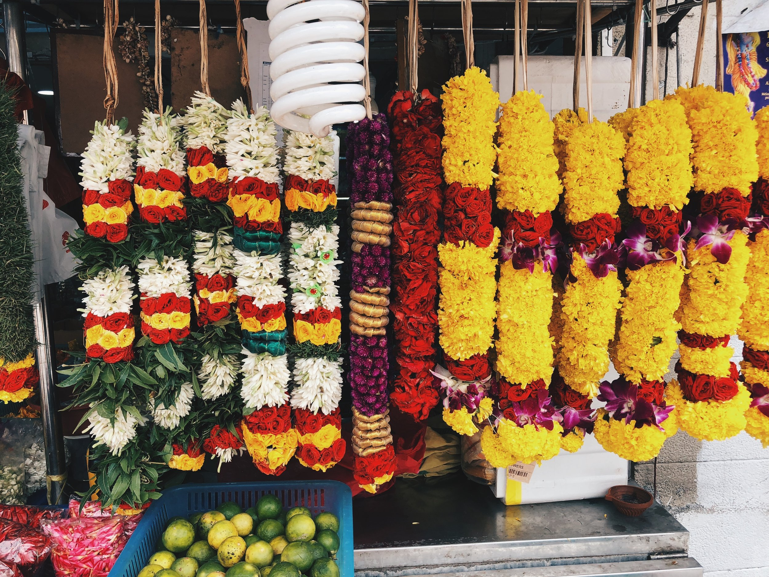 Flowers at Little India
