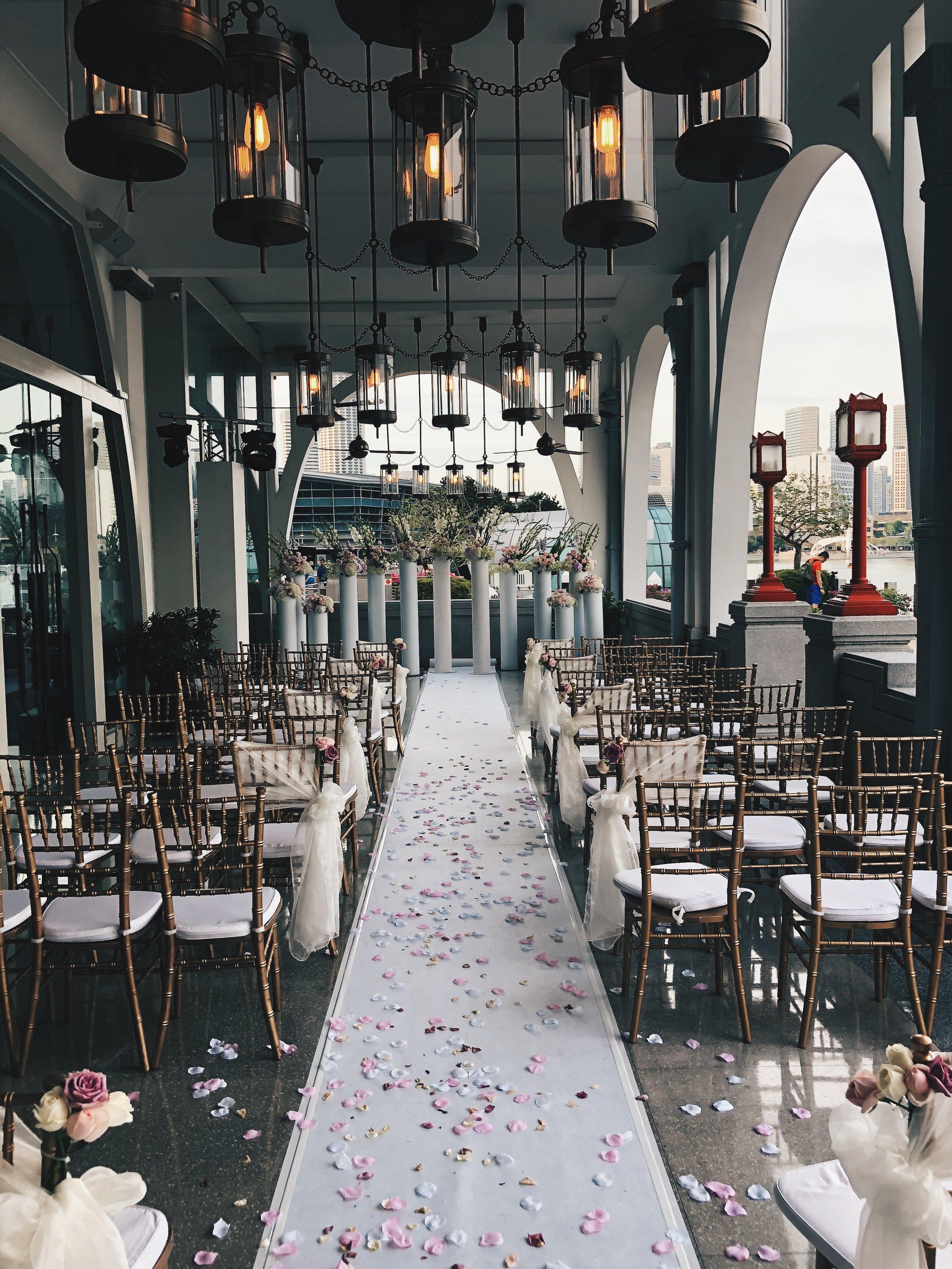 Wedding at Fullerton Bay Hotel