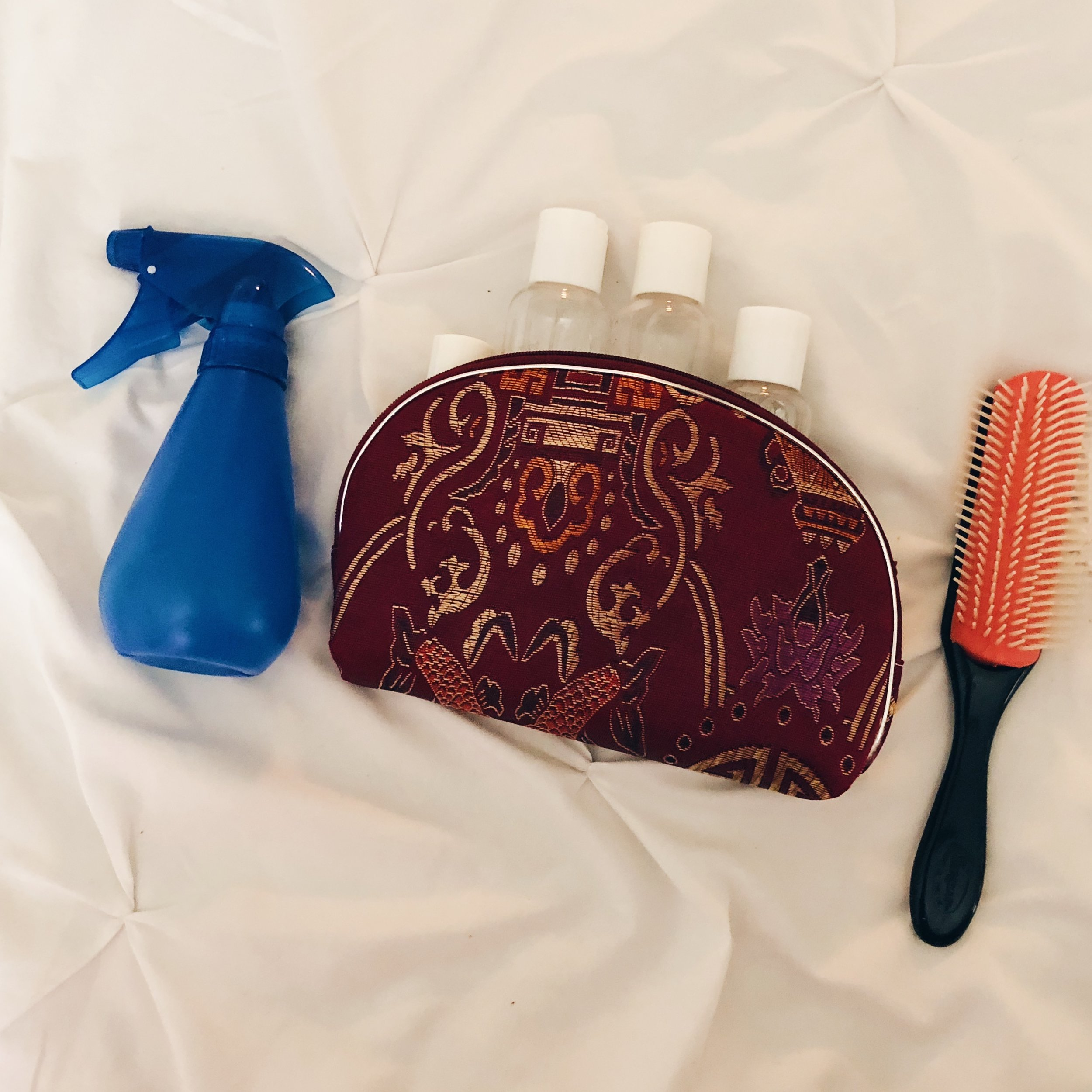 Curly Hair Travel Necessities for Traveling Abroad