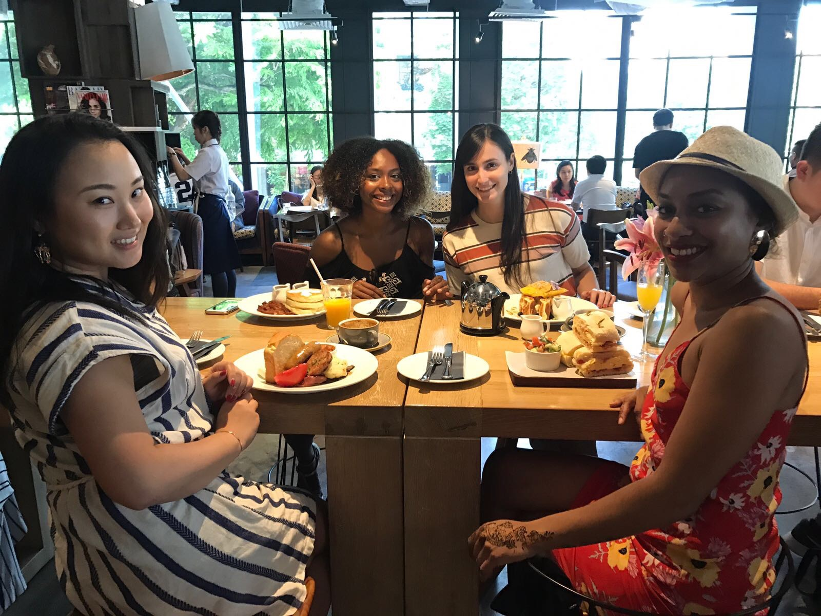 Brunch in Singapore with Friends