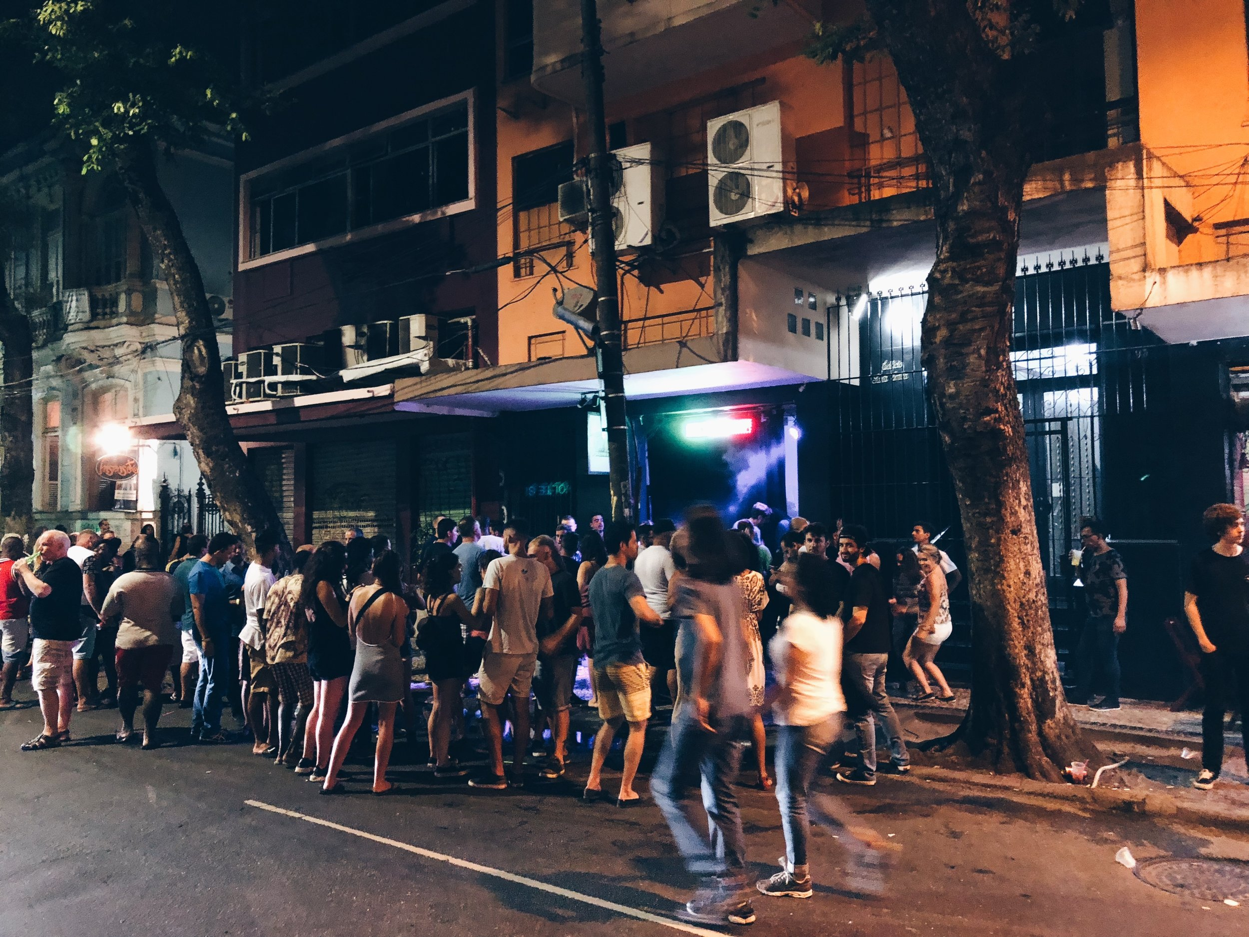 Nightlife in Lapa
