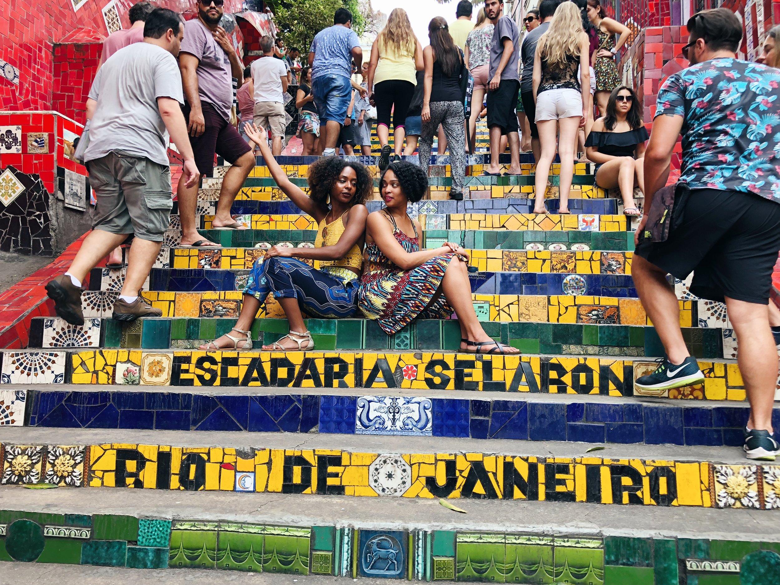 Escadaria Selarón Mosaic Steps