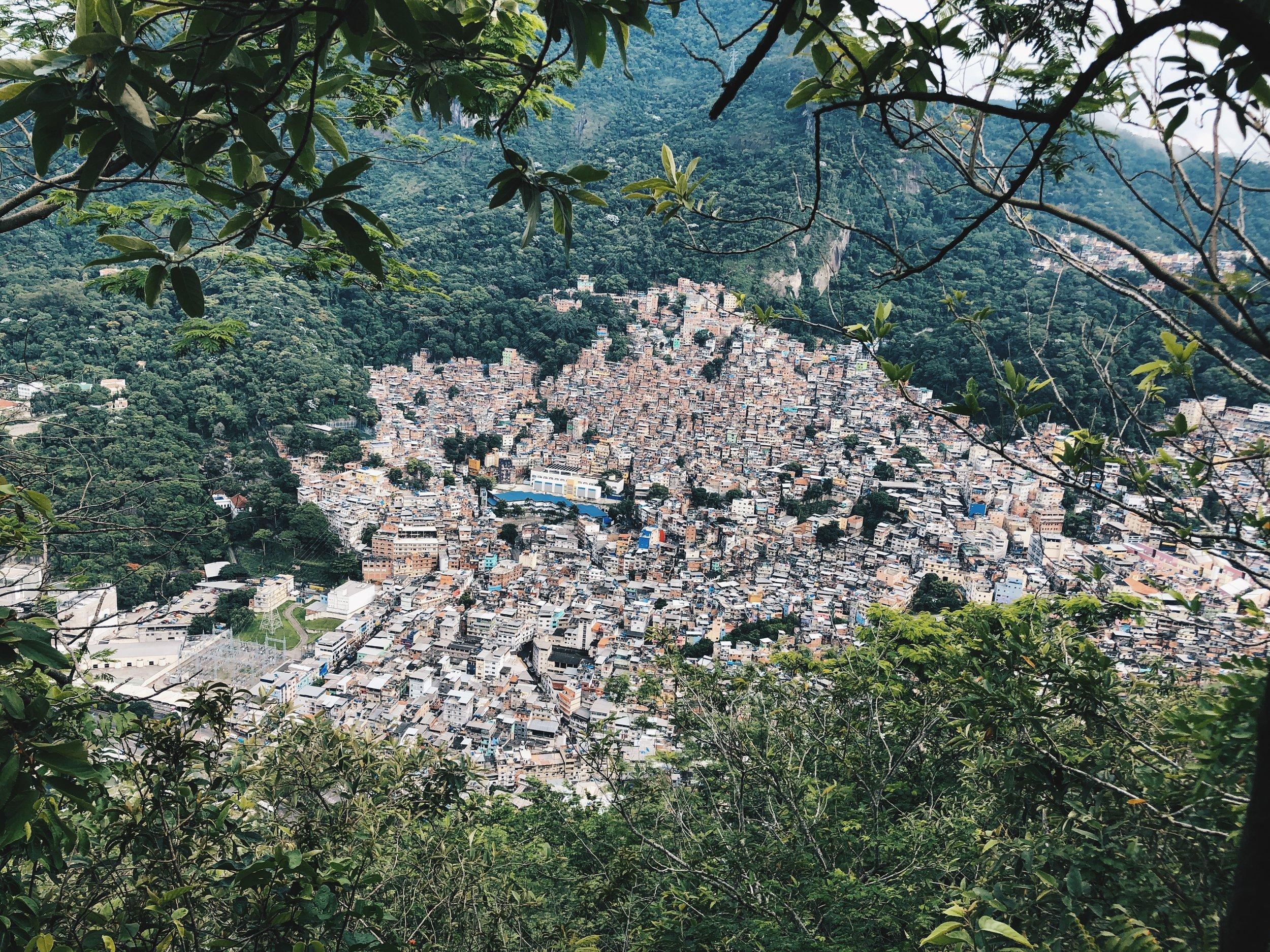 View of Favela da Rocinha, Rio