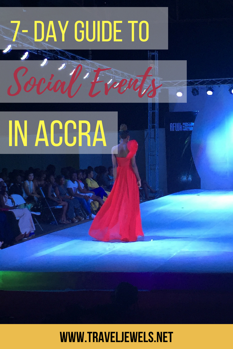 7 Day Guide to Social Events in Accra
