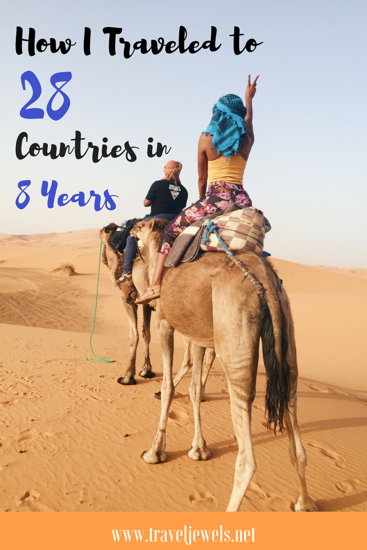 How I traveled to 28 Countries in 8 years