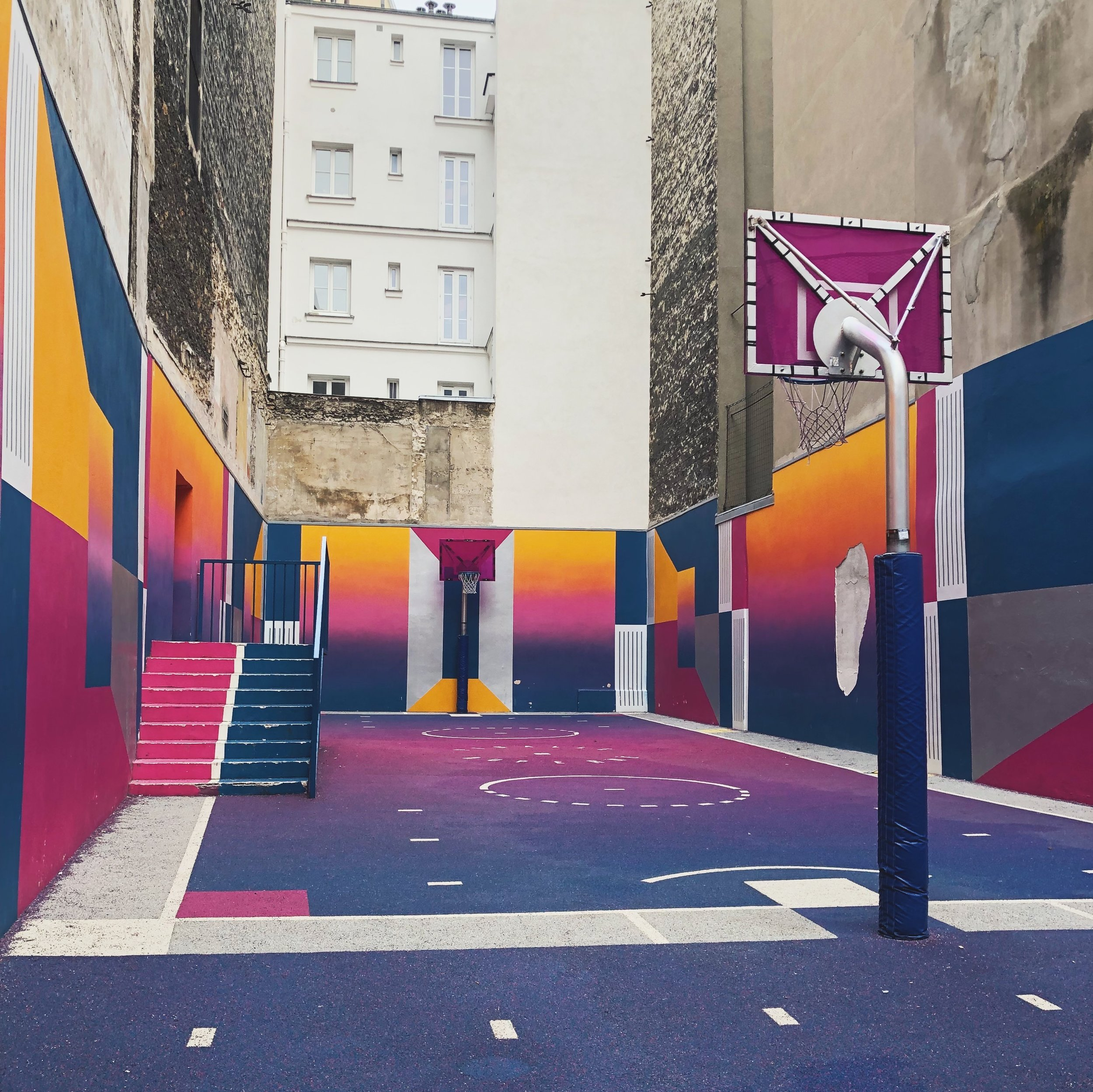 12 Top Travel Moments of 2018- Pigalle Basketball Court