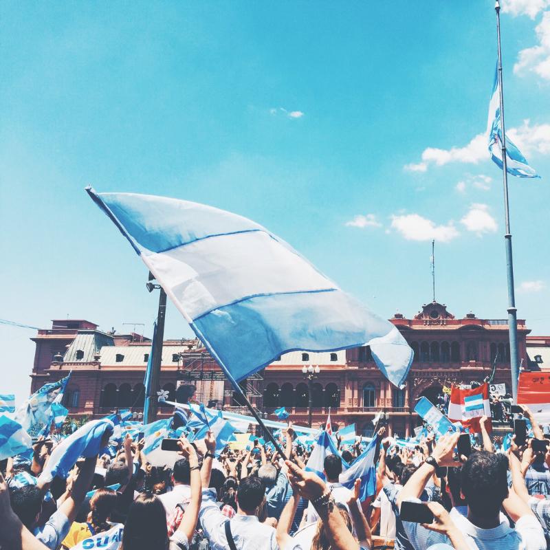 South America - ArgentinaBrazilPeru