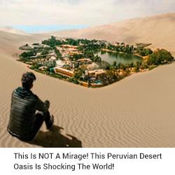 Desert Oasis- Peru Hop