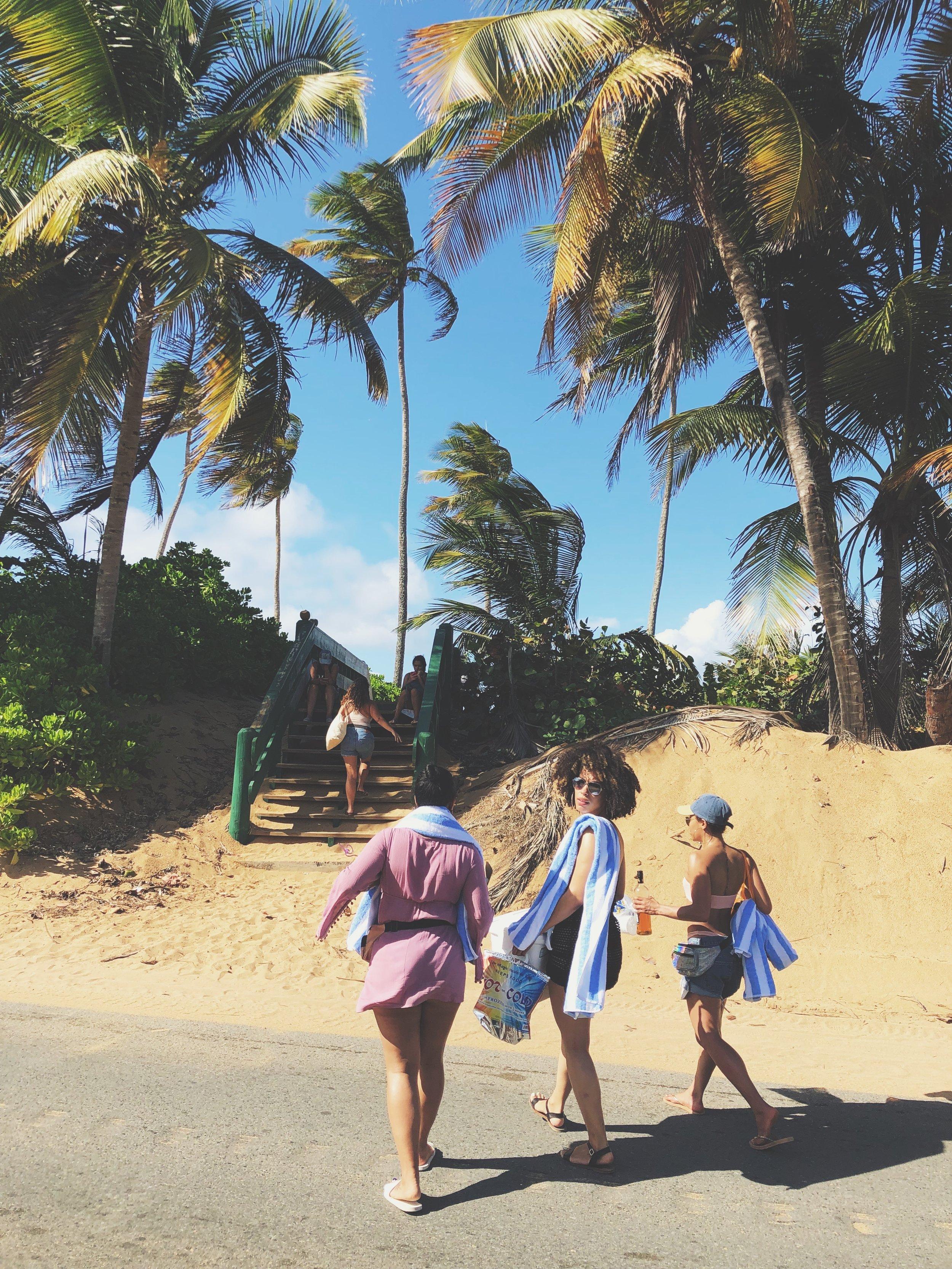 Beach Day at Piñones