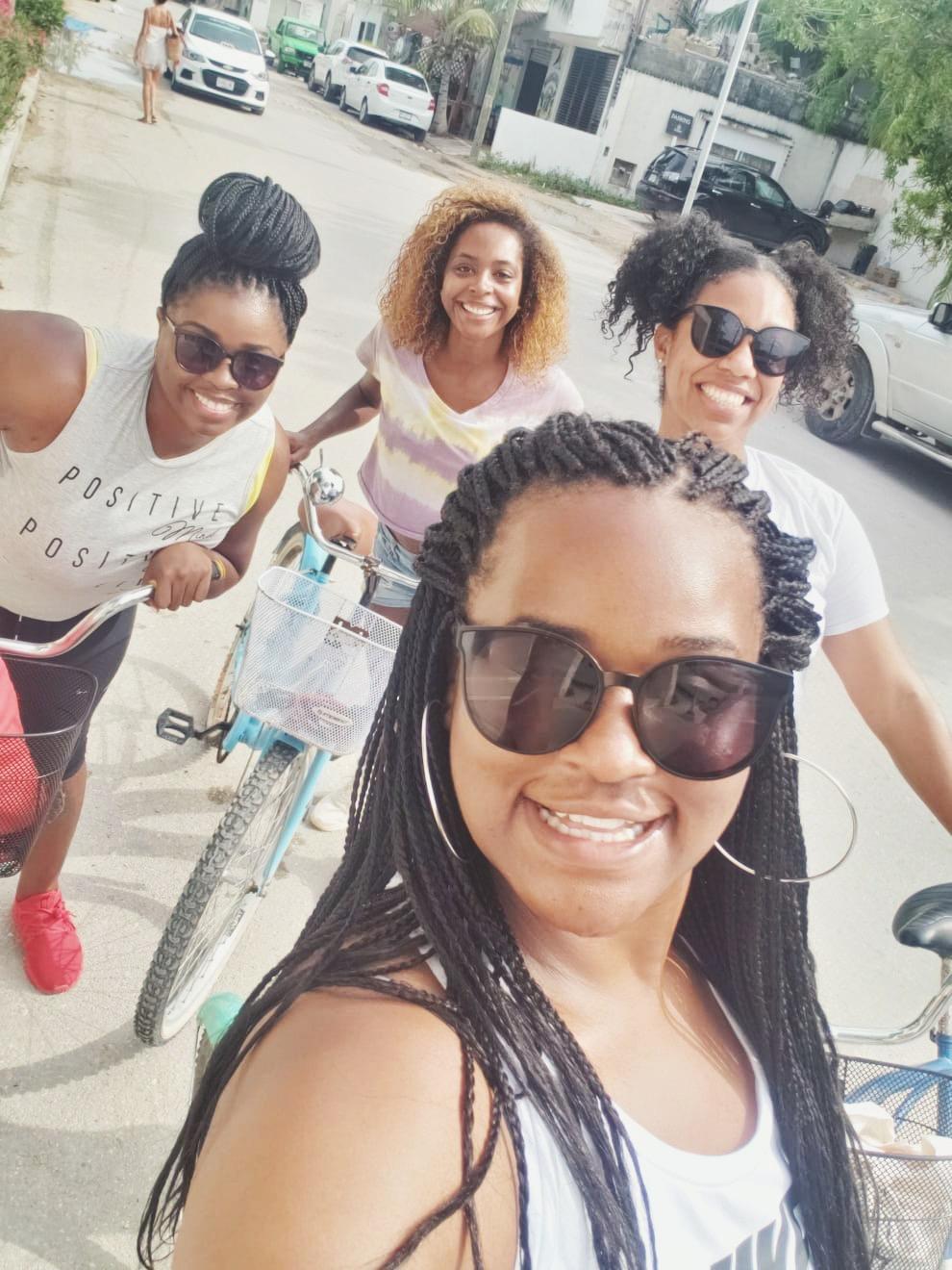 Bike Riding in Tulum Town