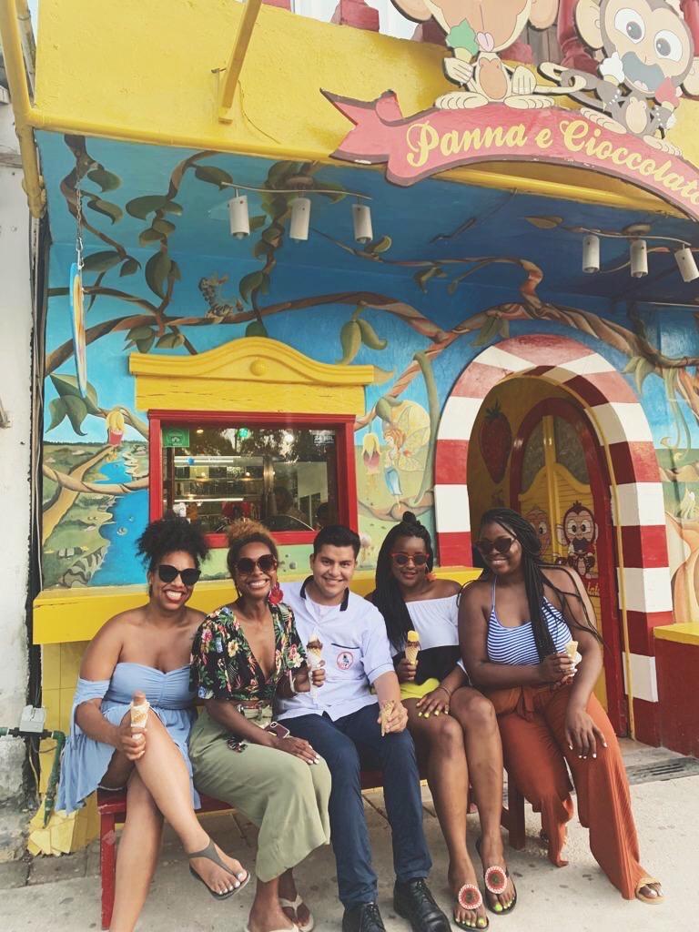 Ice cream in Tulum