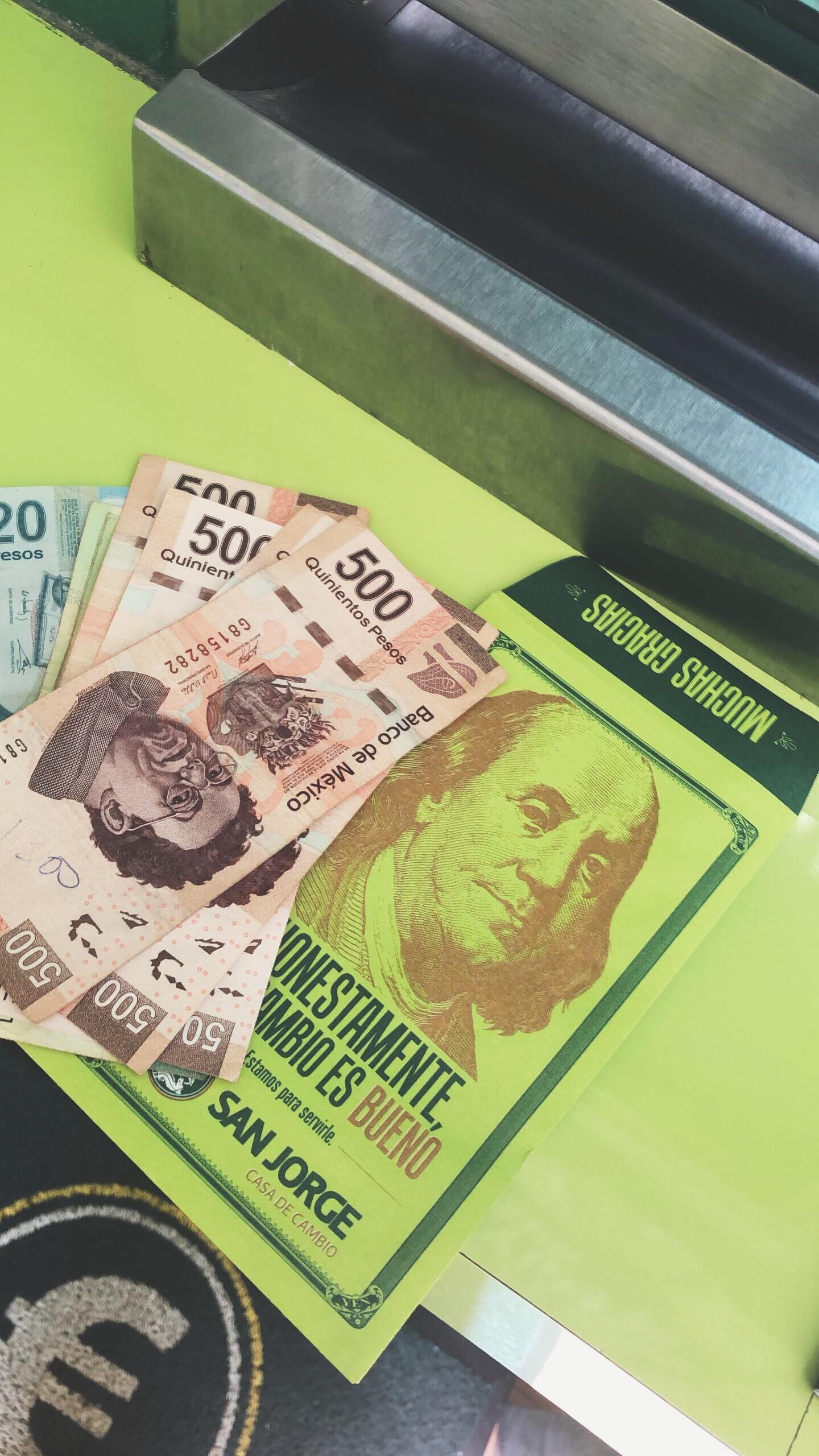 Money Exchange in Tulum