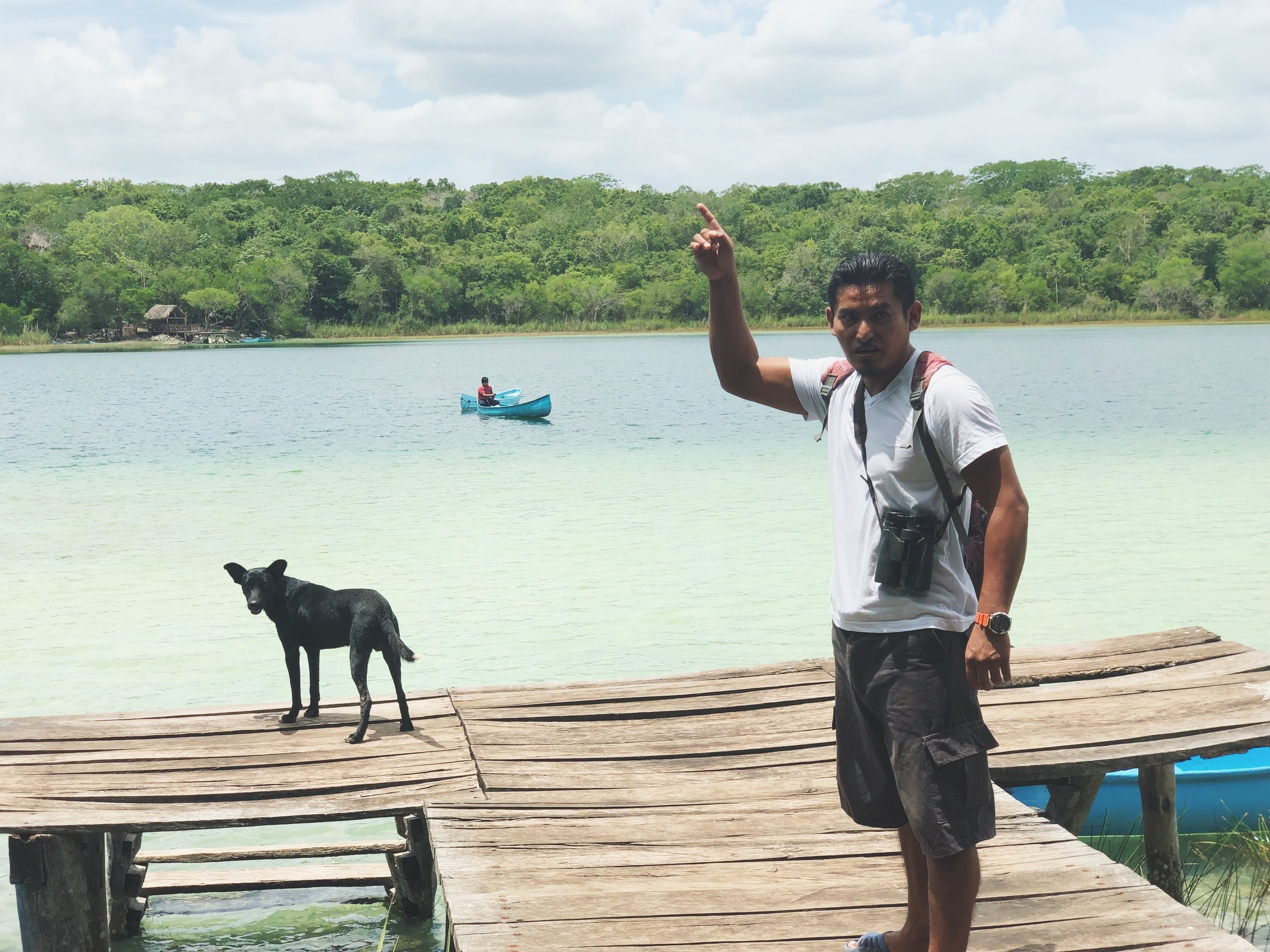 Jungle Trek in Punta Laguna