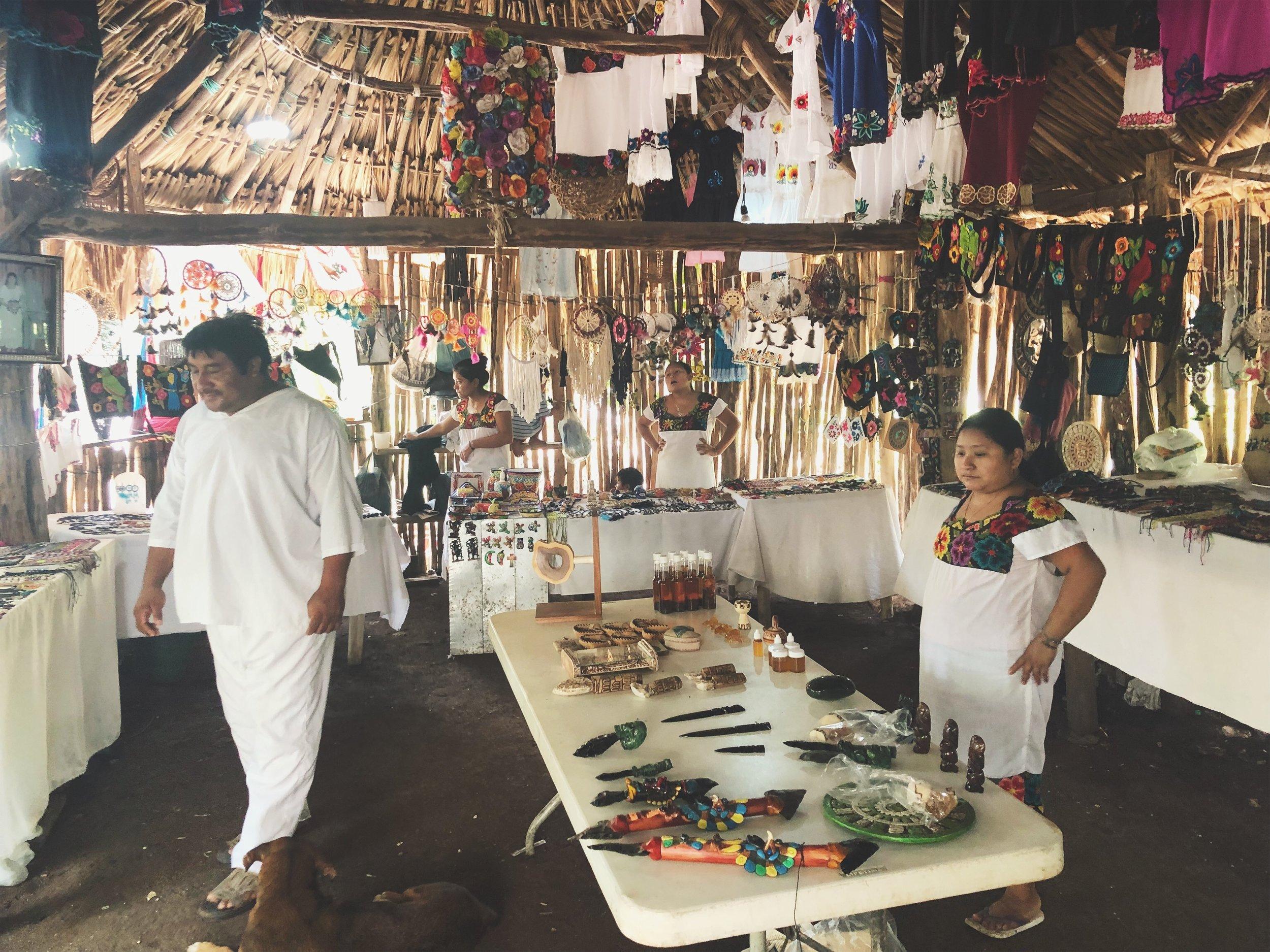 Mayan Village in Tulum