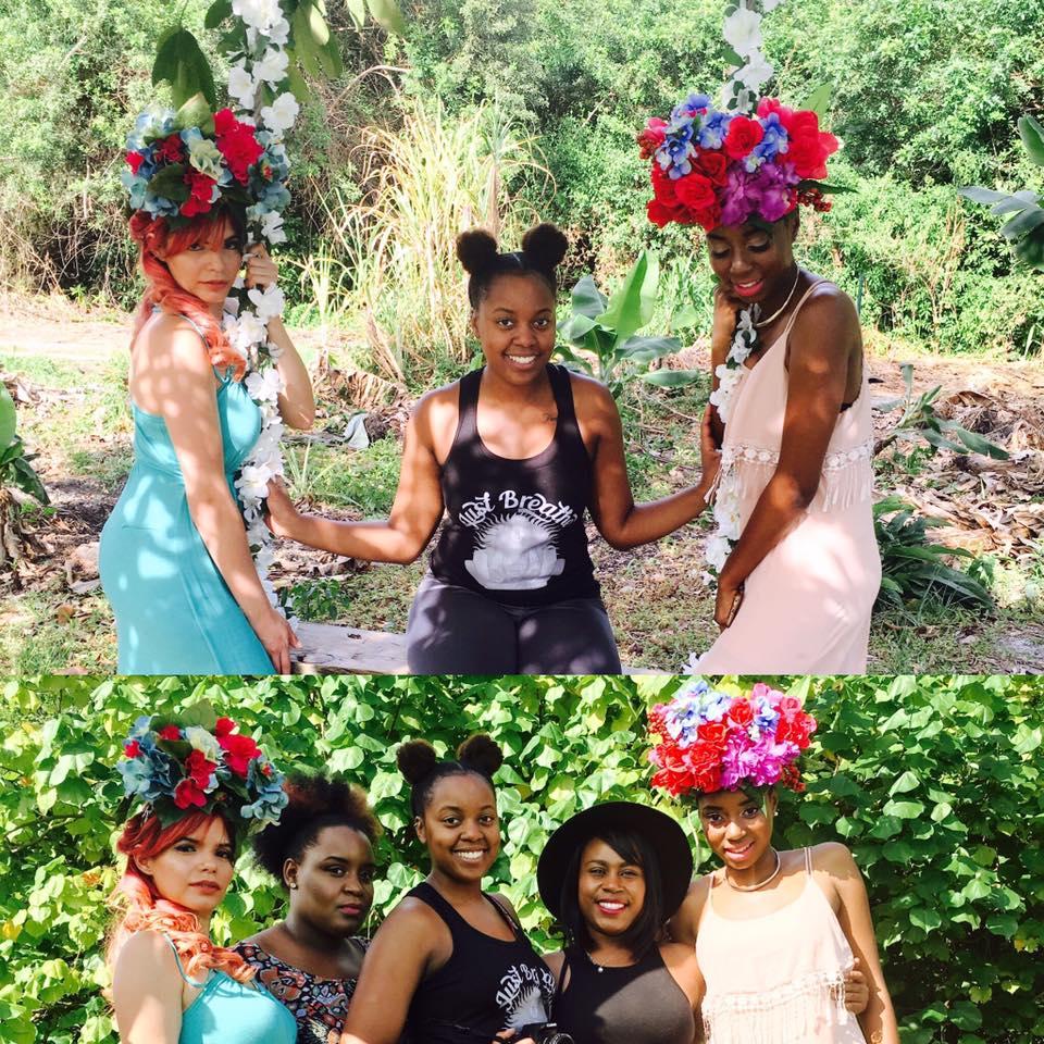 Bottom pic (left to right) Model Noralice, MUA Rochiani, Me(Photographer), Hairstylist Kay, Model Tyjai.