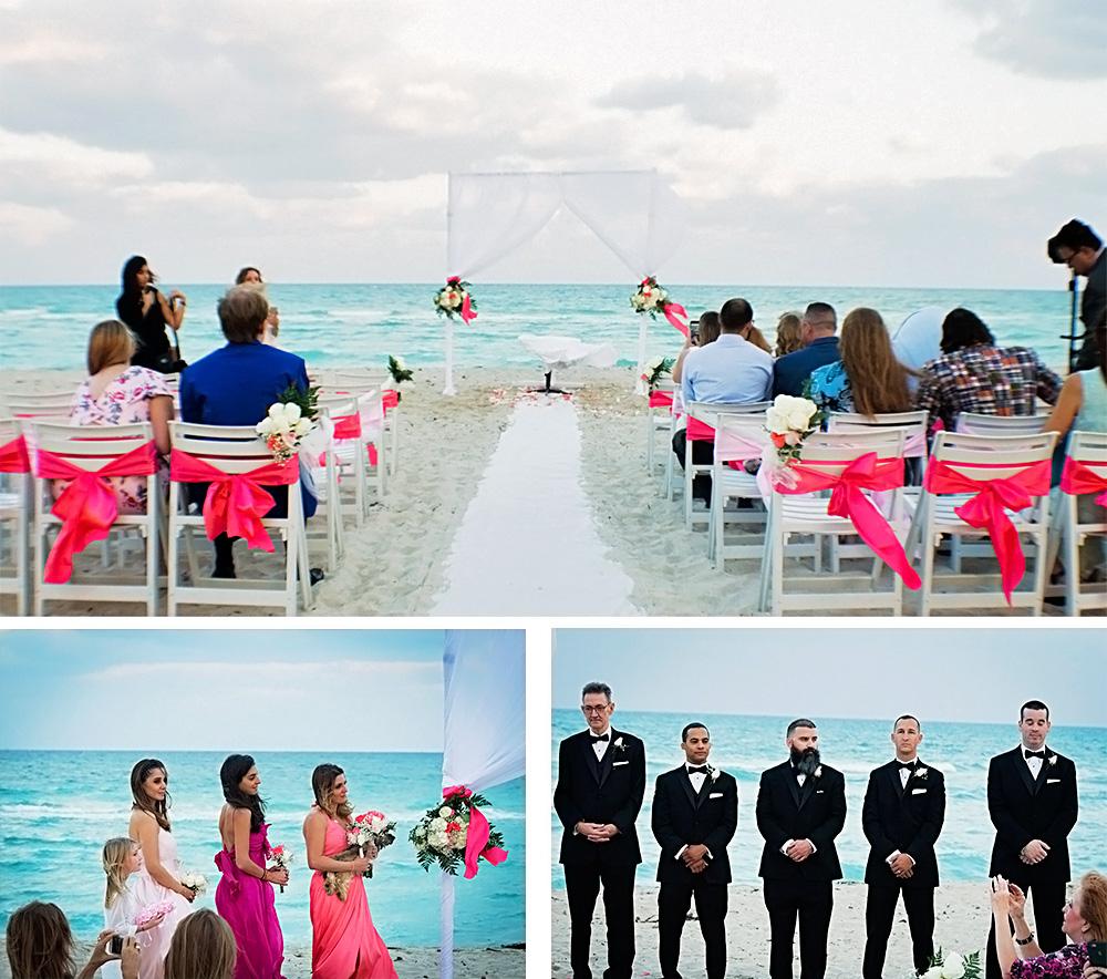 beach-wedding-ceremony-miami-california-white-pink-wedding-party-ribbon-chair-blacktie-bridal-dress-los-angeles-photographer.jpg