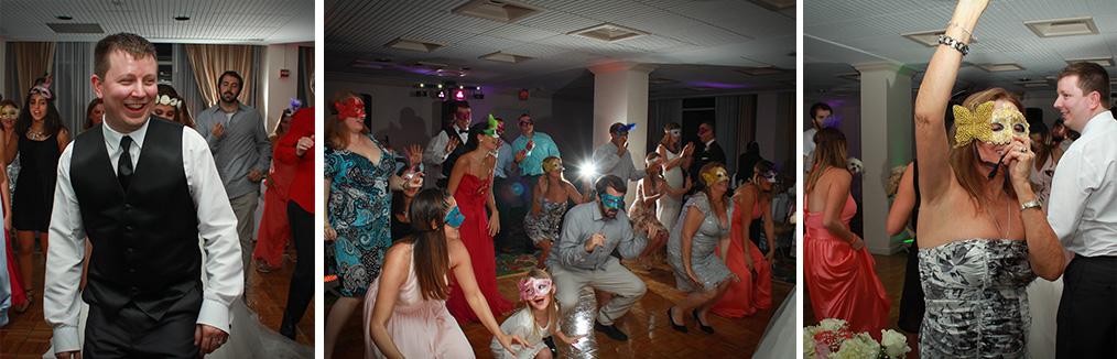masquerade-masks-indoor-reception-entrance-bride-groom-dancing-los-angeles-southern-california-wedding-photographer-fun-excited-happy-dancing.jpg