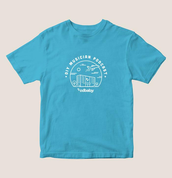DIY Musician Podcast Shirt Design